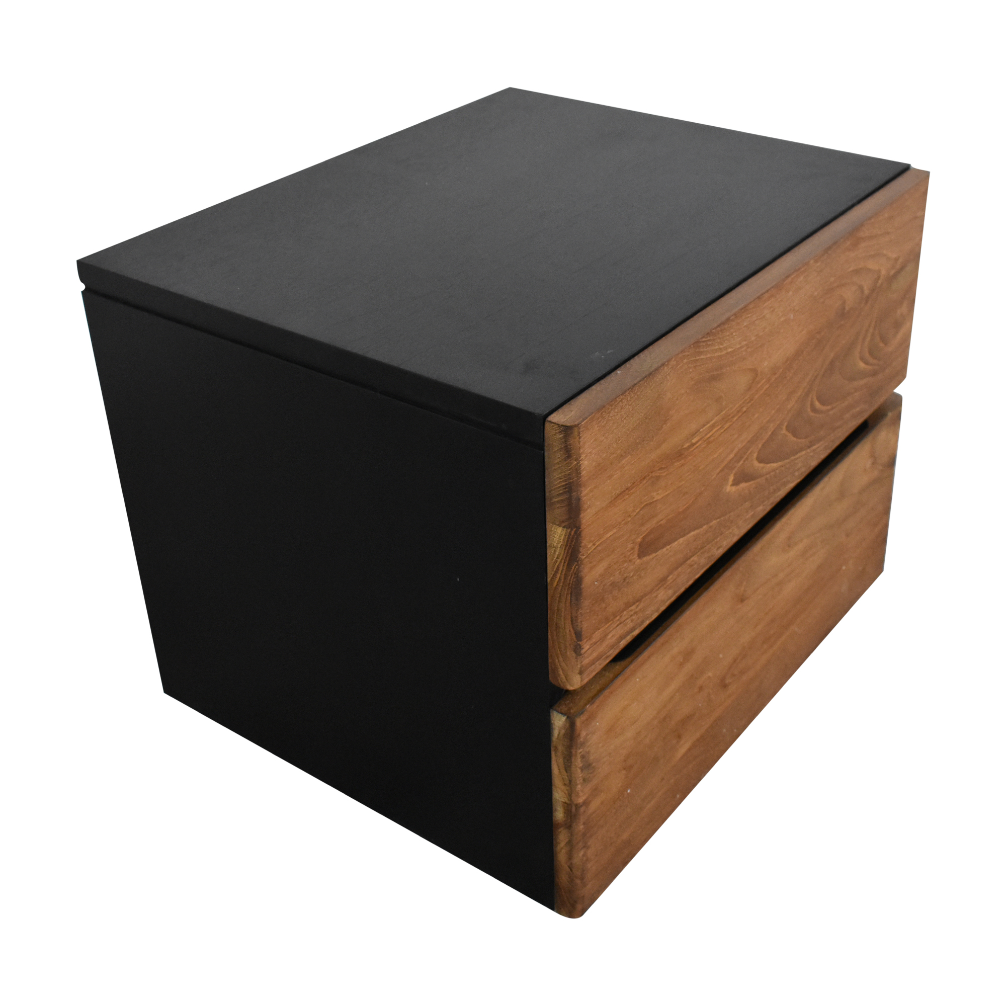 ABC Carpet & Home ABC Carpet & Home Two Tone Nightstand End Tables