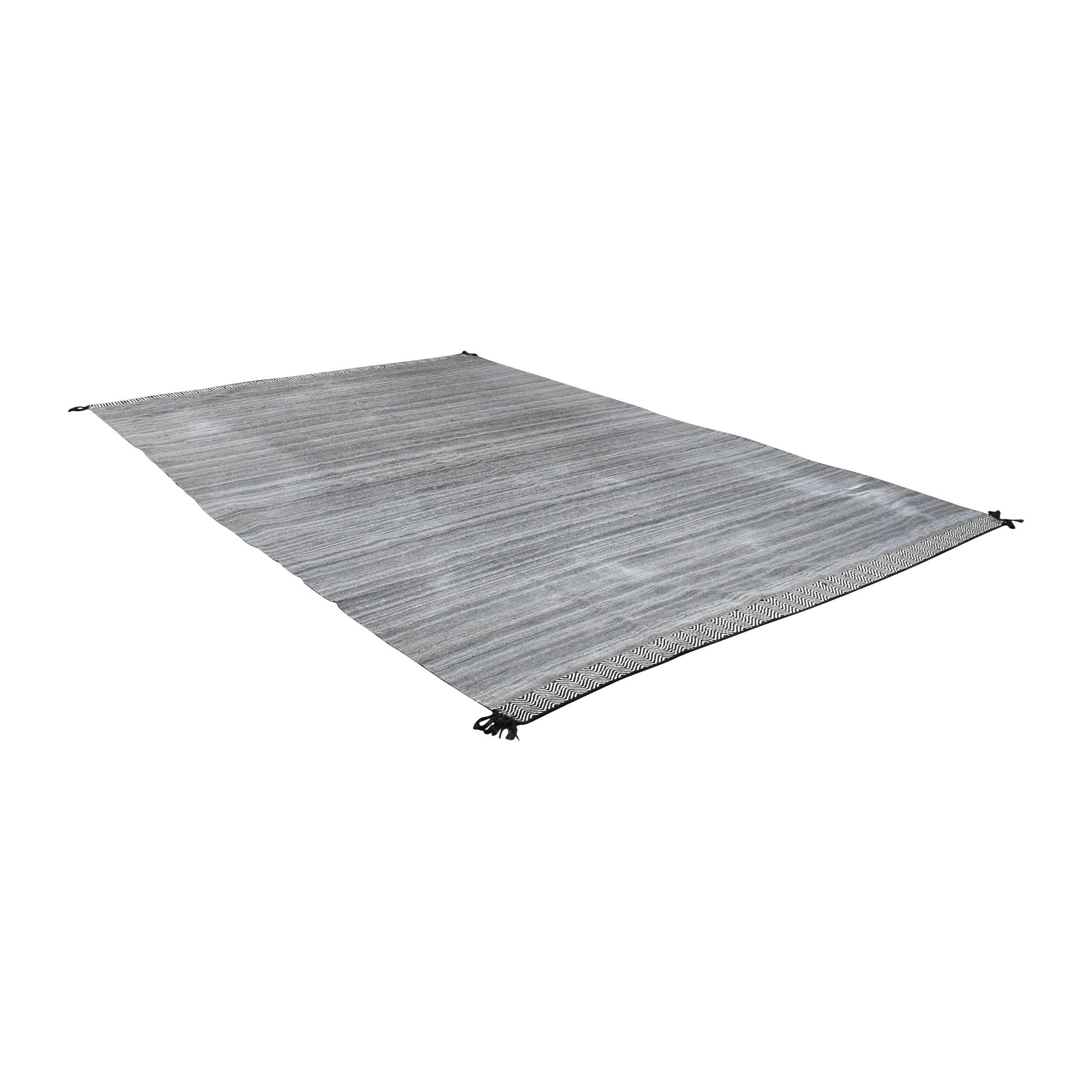 ABC Carpet & Home Flat Weave Area Rug sale