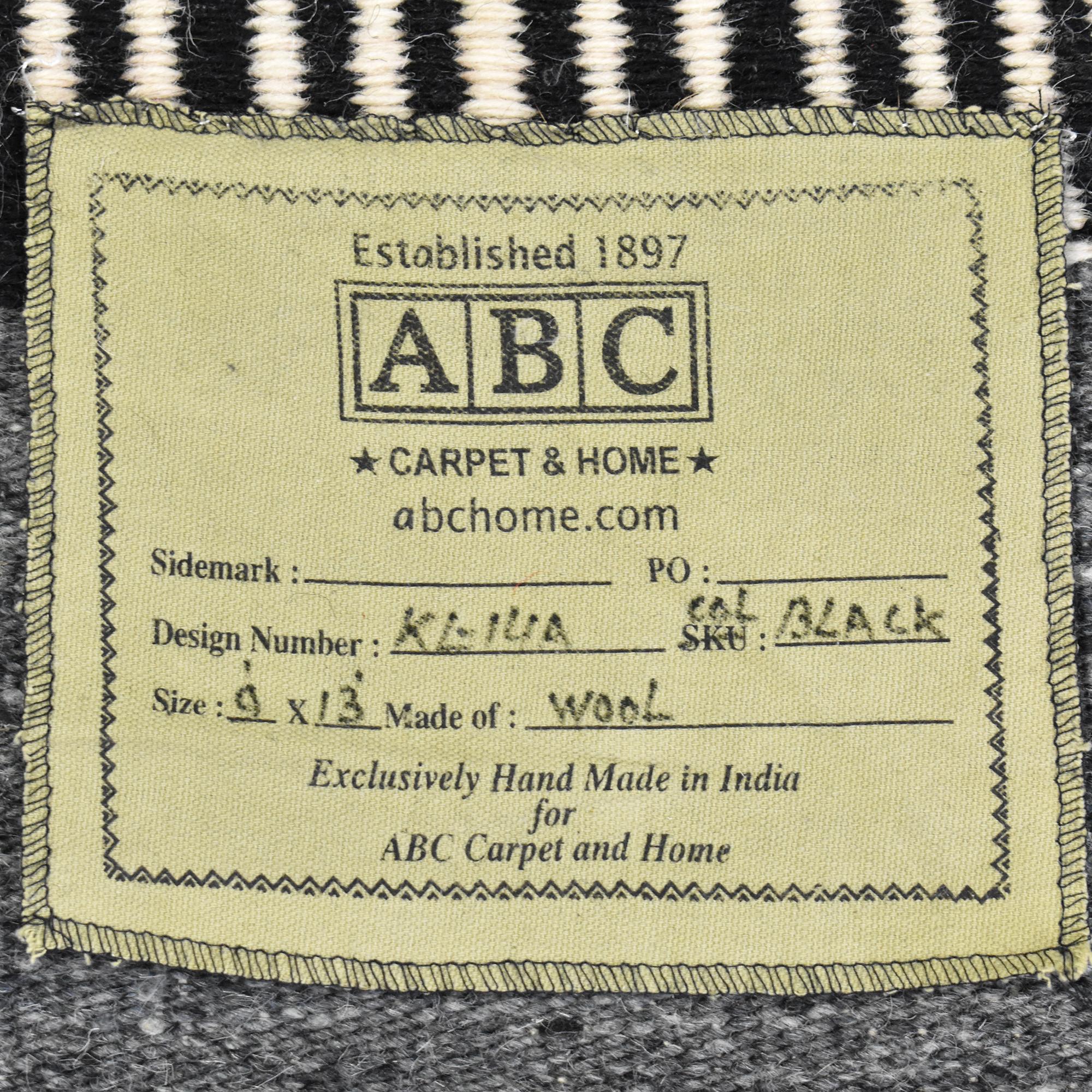 ABC Carpet & Home Flat Weave Area Rug ABC Carpet & Home