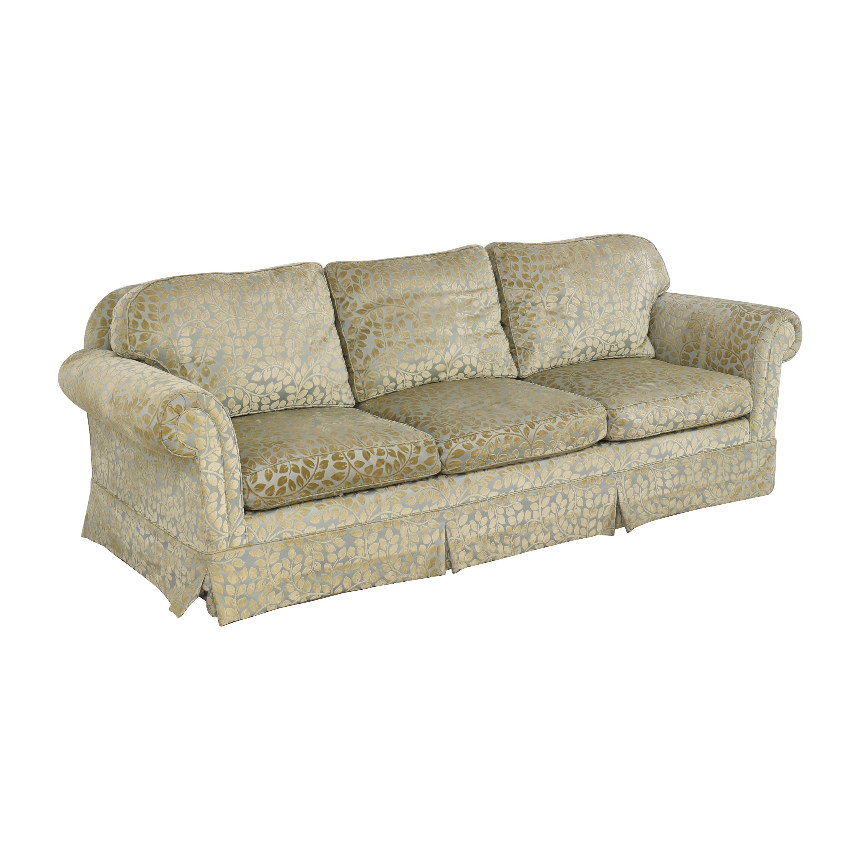 Skirted Roll Arm Sofa nj
