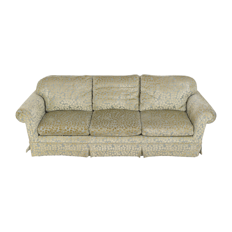 Skirted Roll Arm Sofa ct
