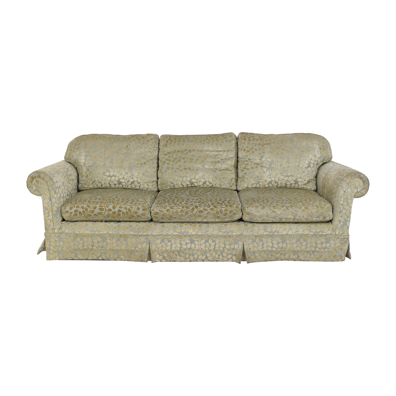 shop Skirted Roll Arm Sofa  Sofas