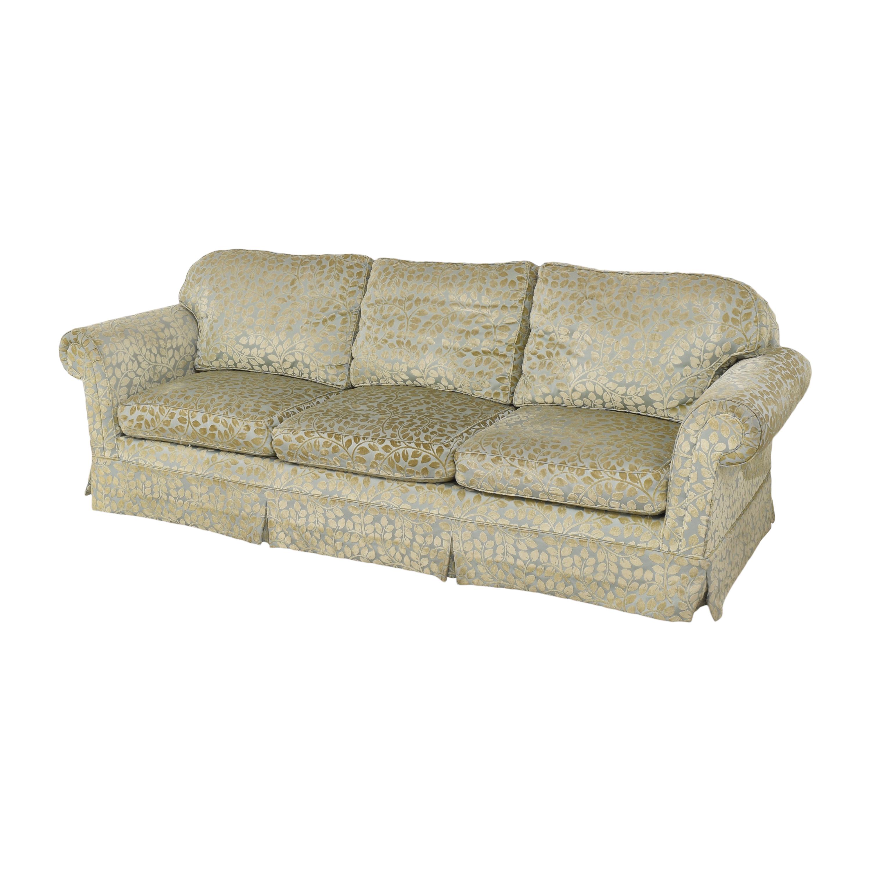Skirted Roll Arm Sofa ma