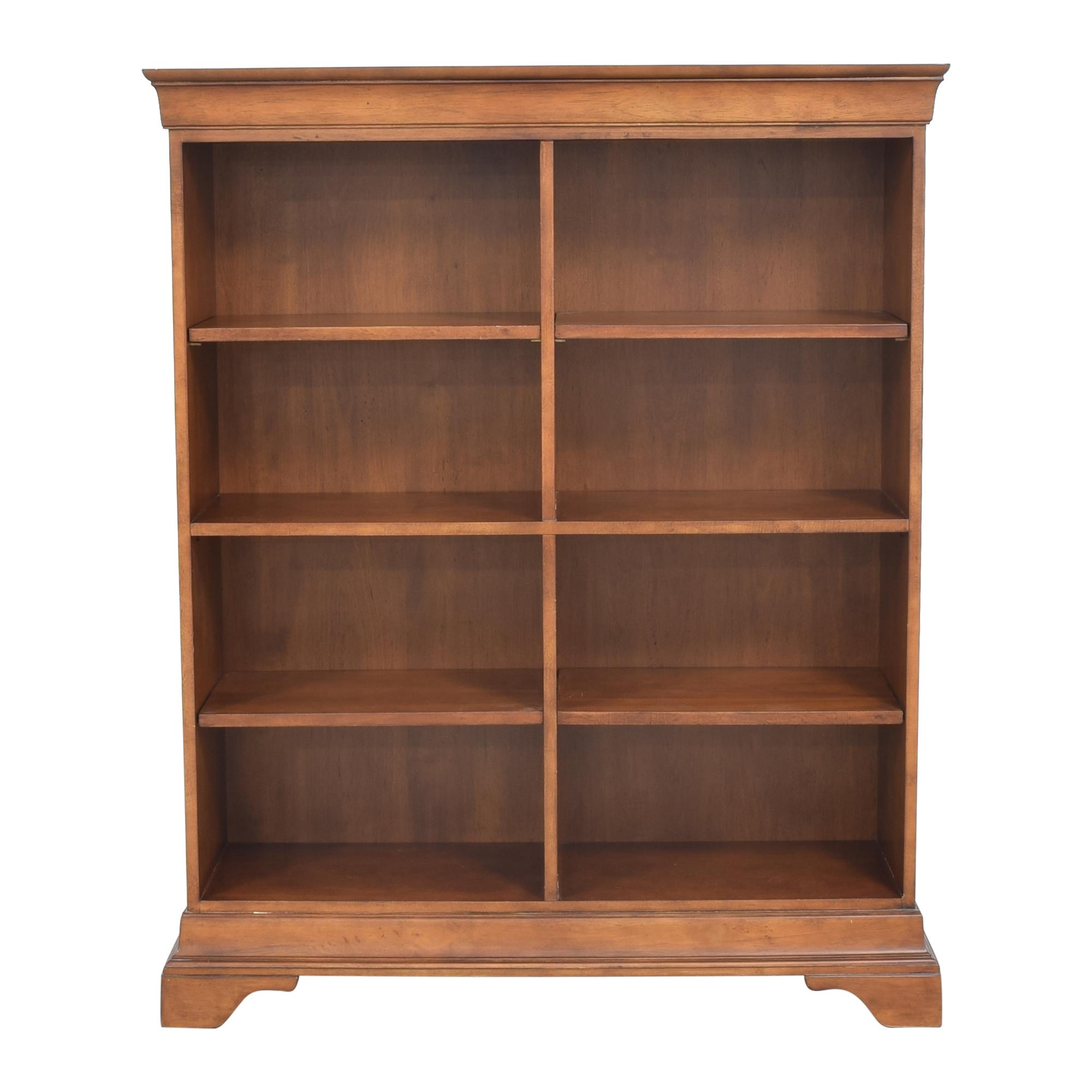 shop Hooker Furniture Double Bookcase Hooker Furniture Storage