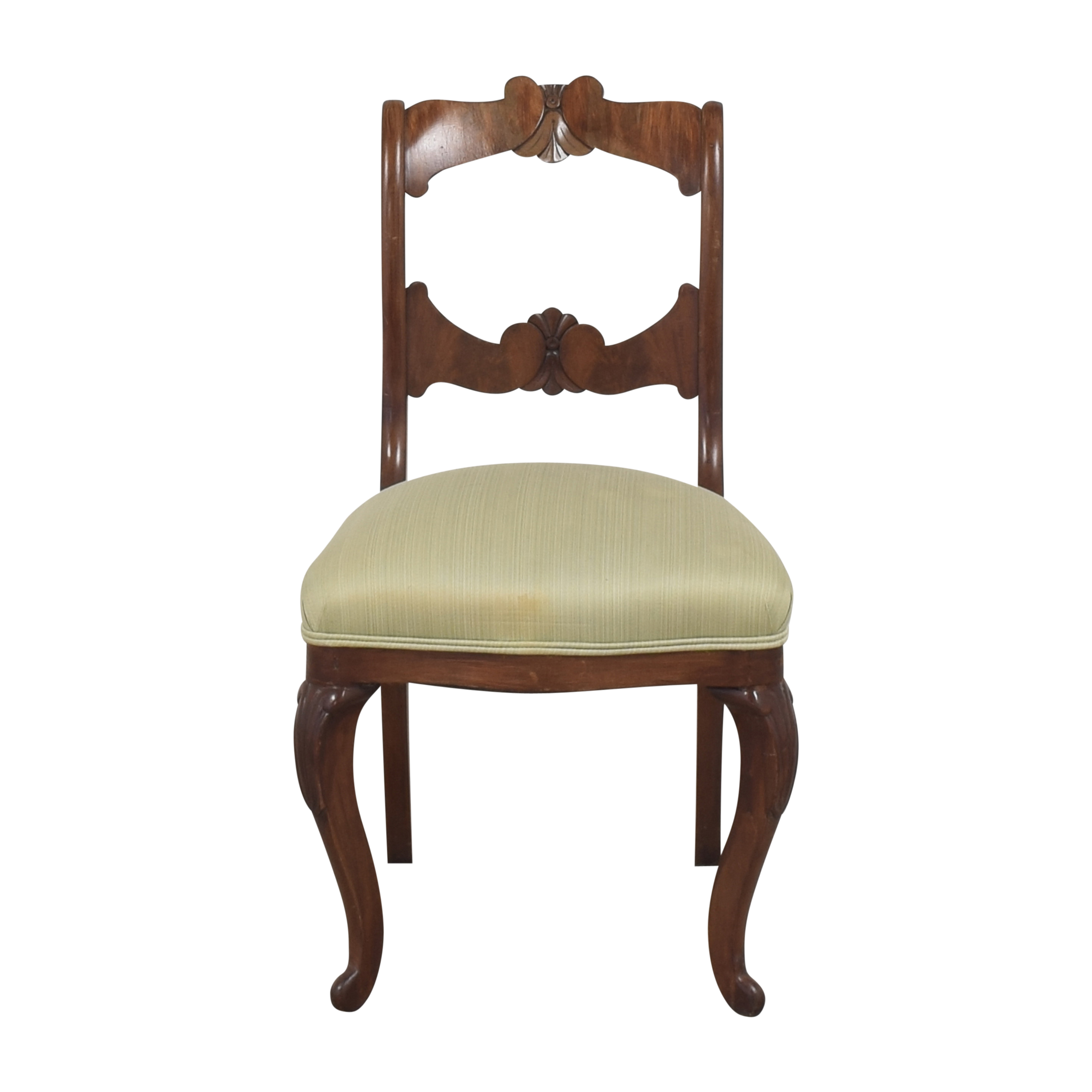 Antique Upholstered Side Chair nyc