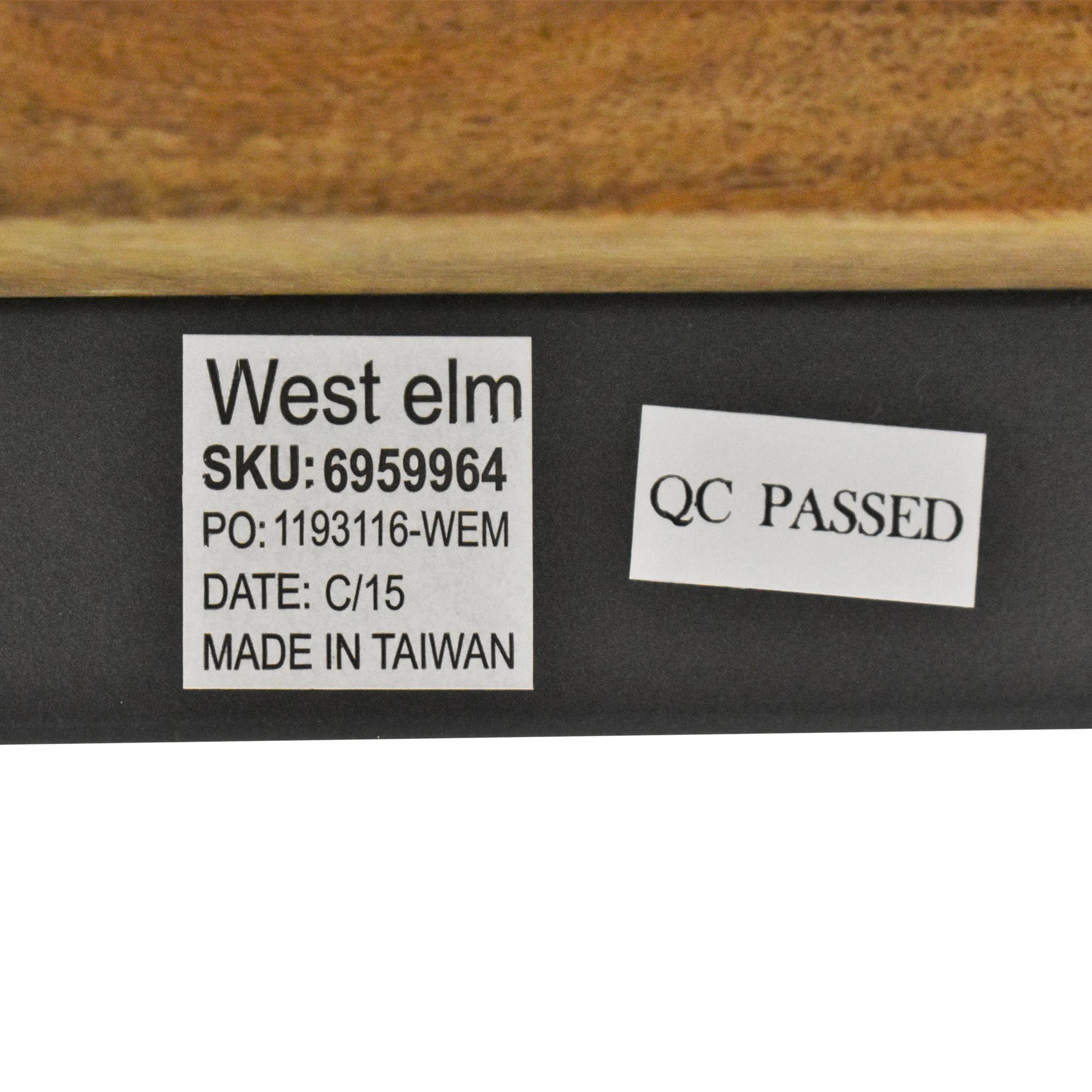 West Elm West Elm Industrial Storage Mini Desk discount