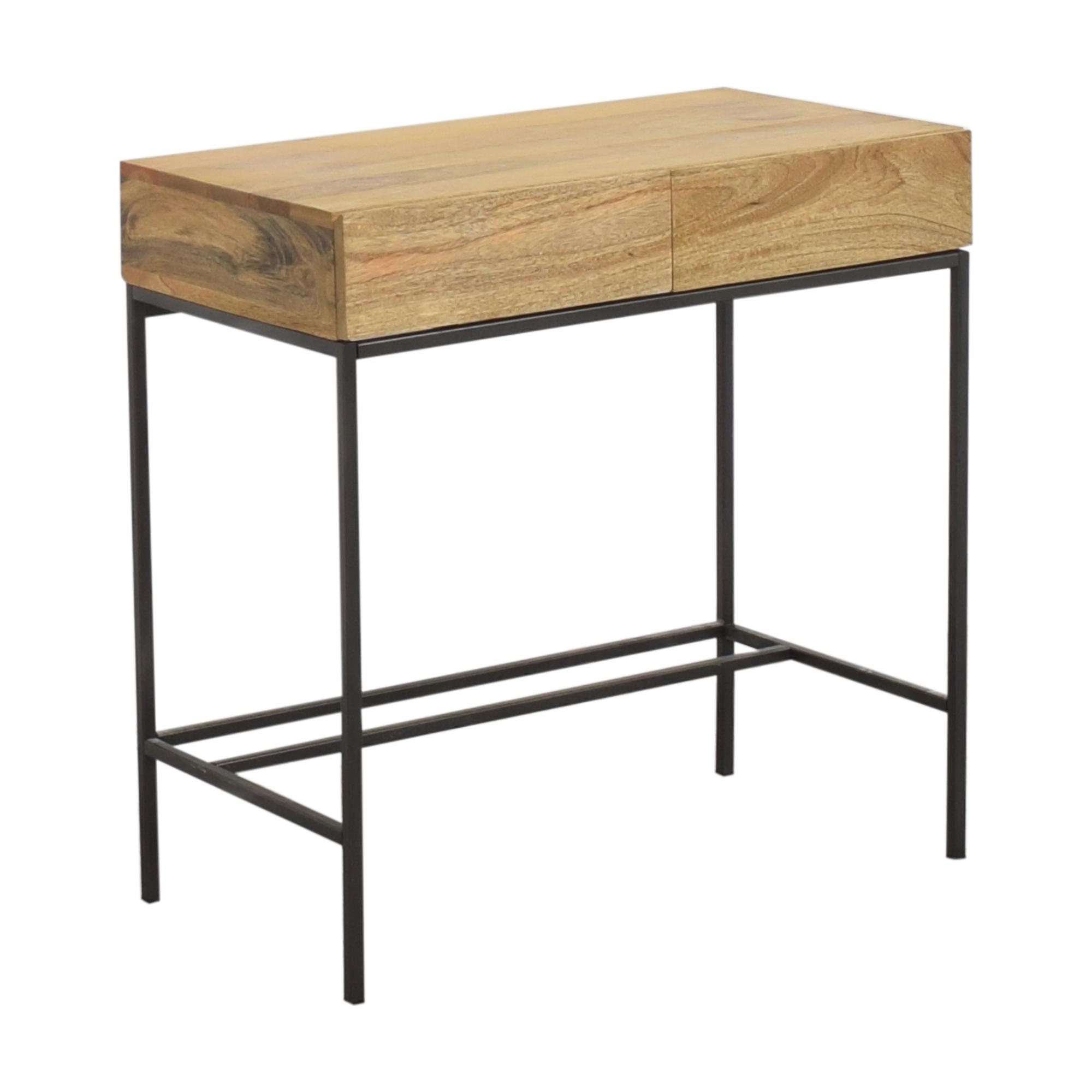 West Elm West Elm Industrial Storage Mini Desk ct