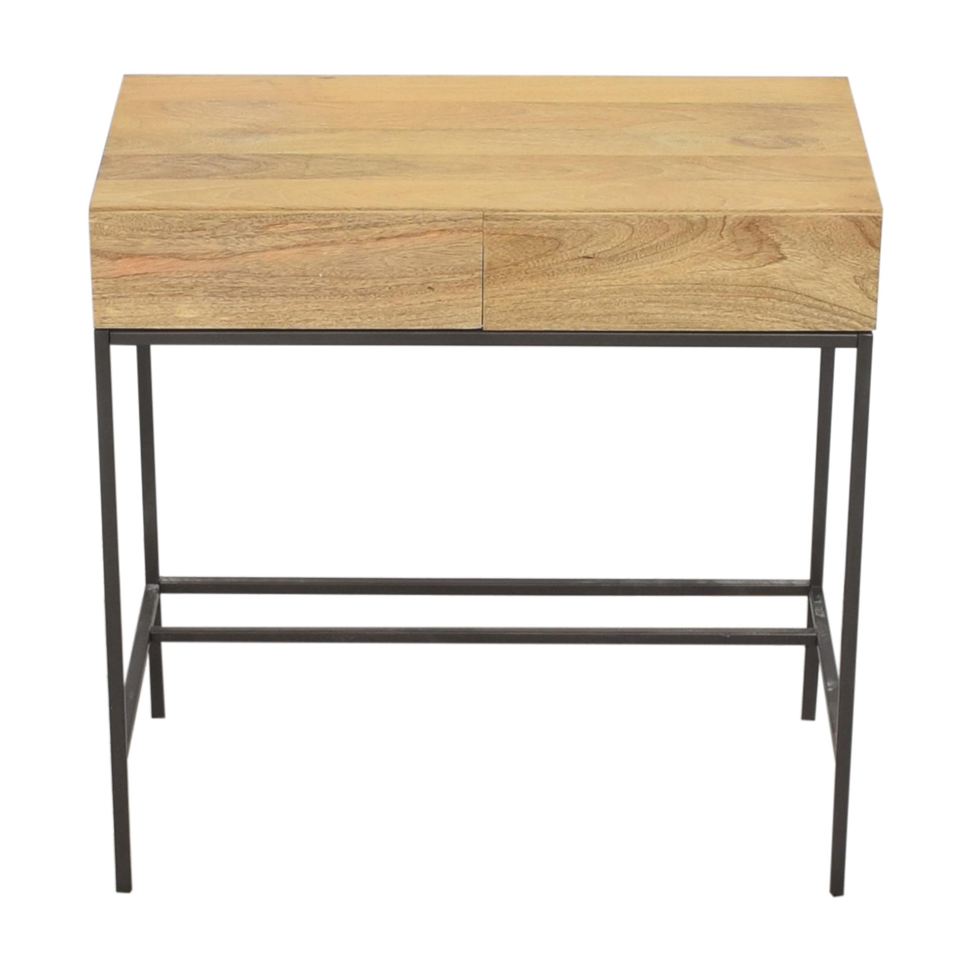 buy West Elm Industrial Storage Mini Desk West Elm Tables