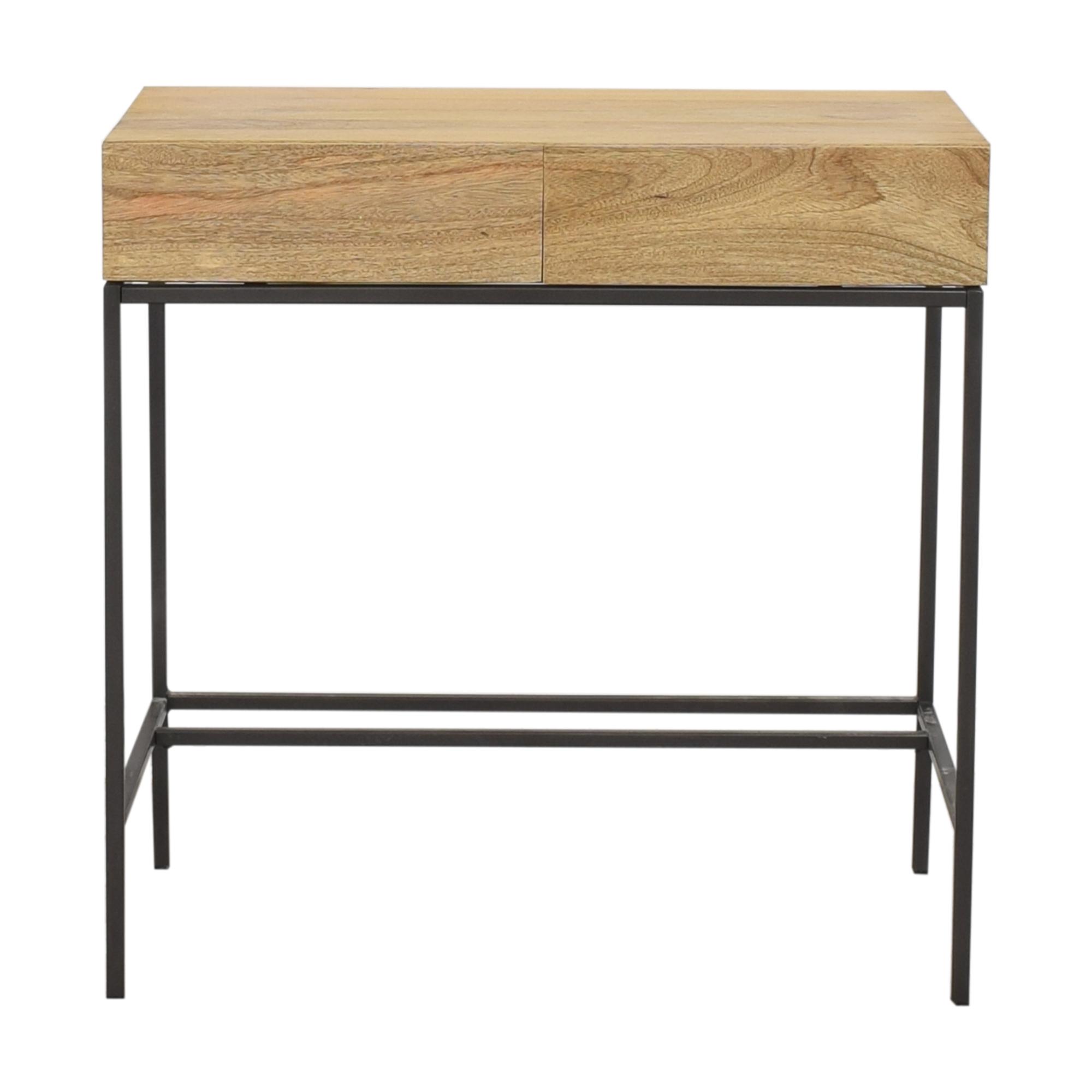 West Elm Industrial Storage Mini Desk sale