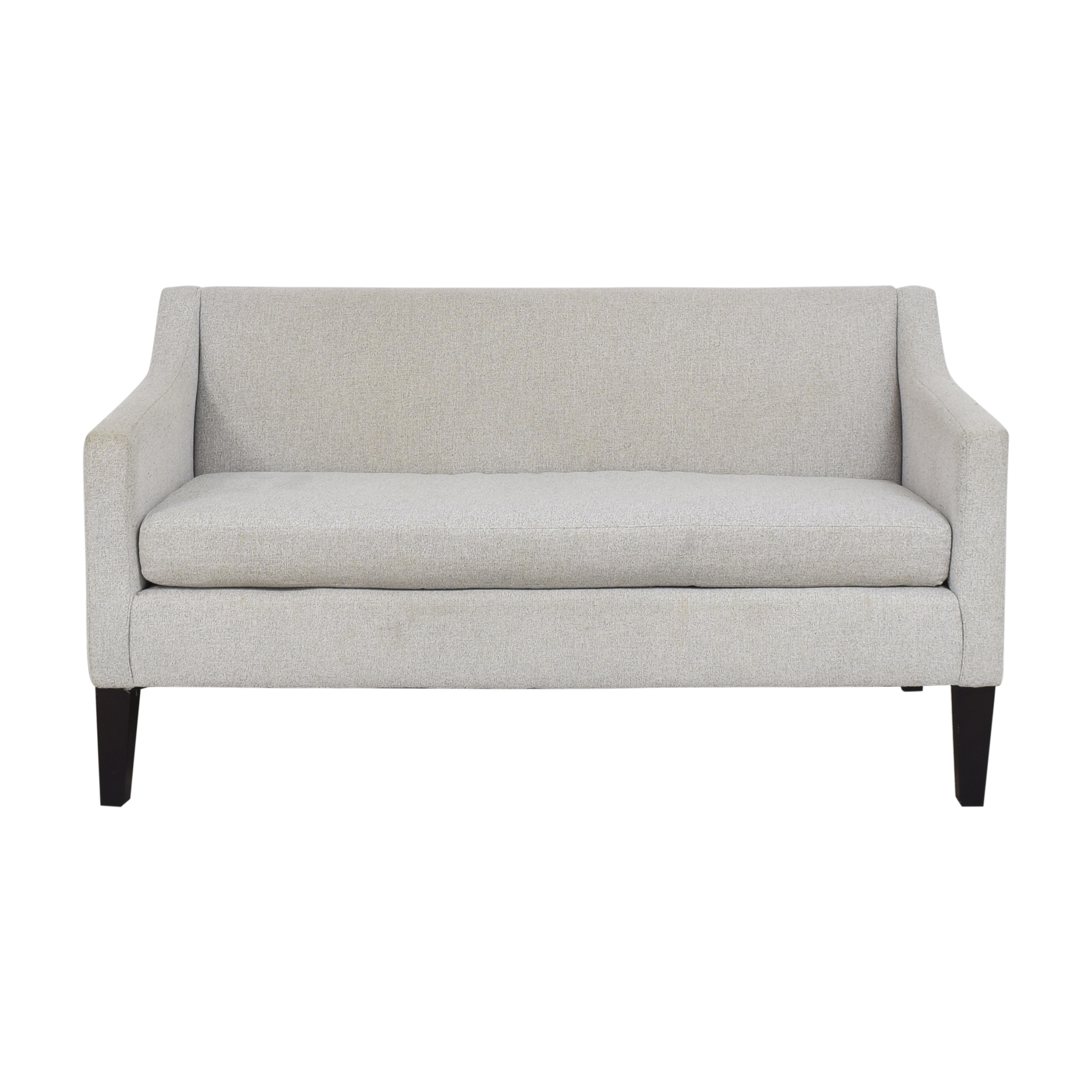 shop West Elm Sutton Sofette West Elm Sofas