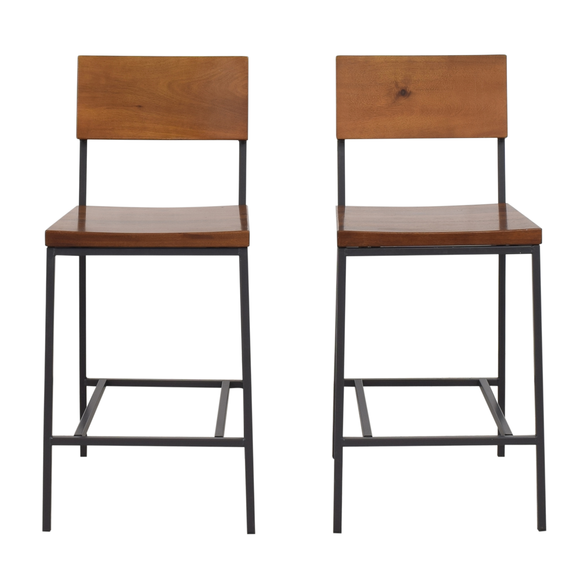 West Elm West Elm Rustic Counter Stools pa