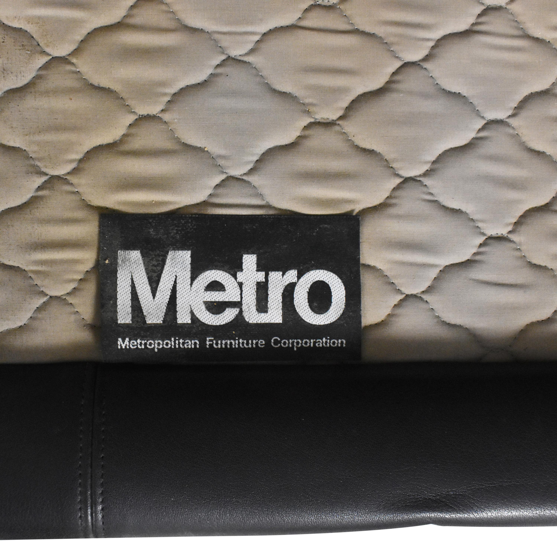 shop Metropolitan Furniture Corporation Two Cushion Sofa Metropolitan Furniture Classic Sofas