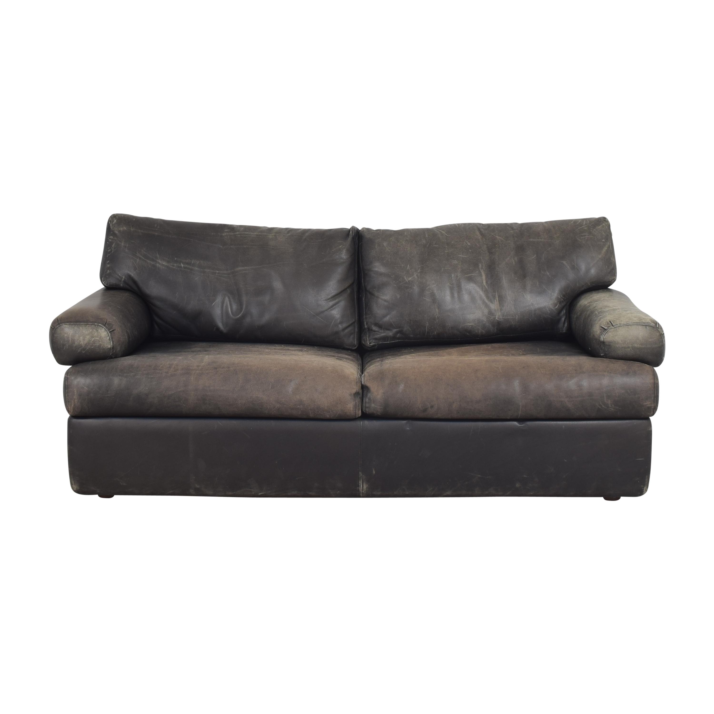 Metropolitan Furniture Corporation Two Cushion Sofa Metropolitan Furniture