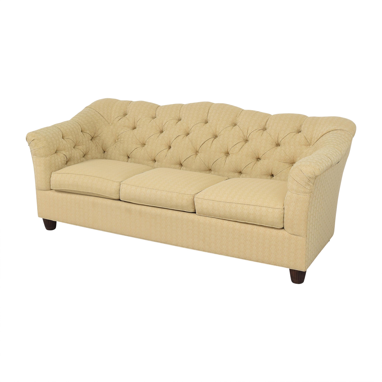 Thomasville Thomasville Tufted Flared Arm Sofa Sofas