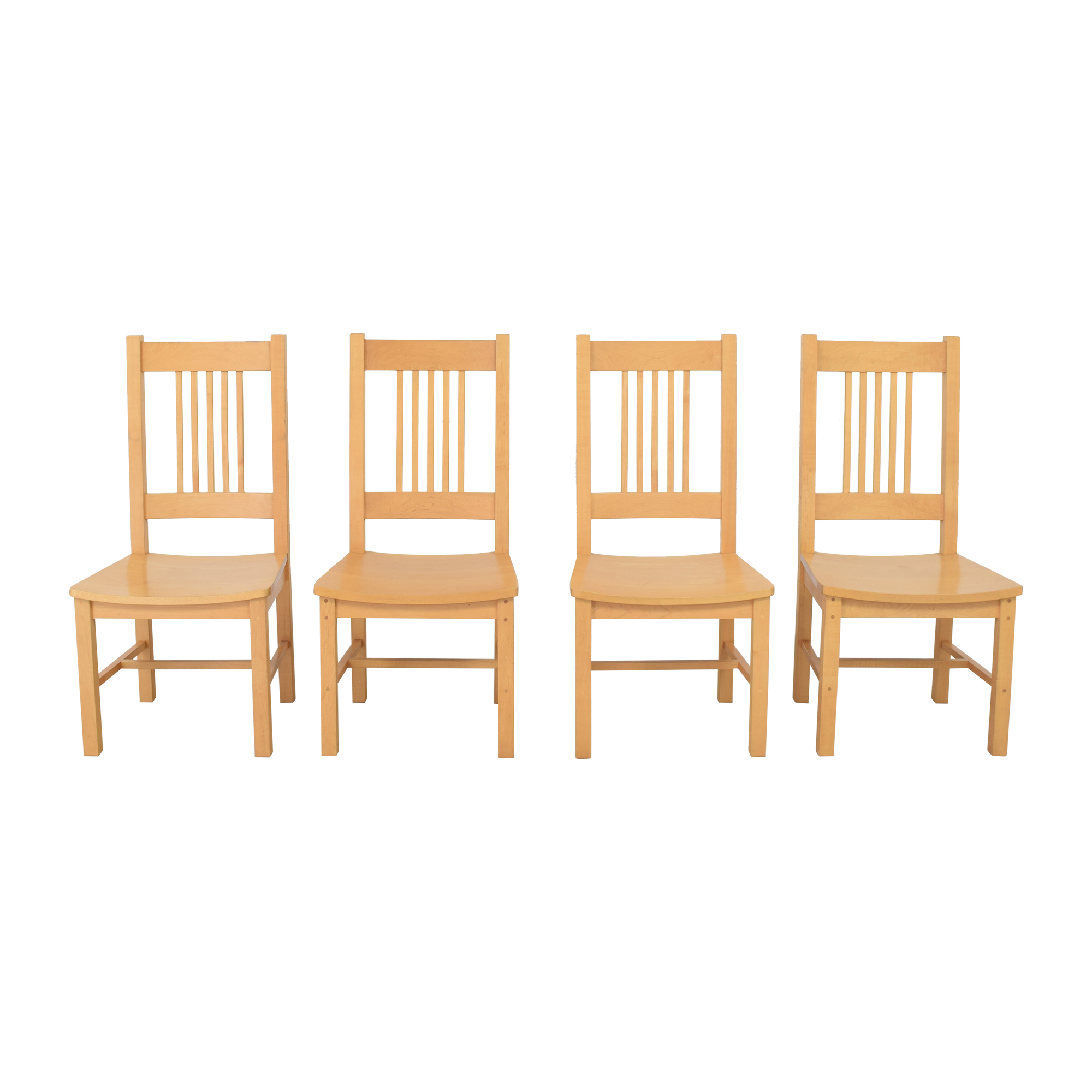 Pompanoosuc Mills Pompanoosuc Mills Brandon Mission Dining Chairs  discount