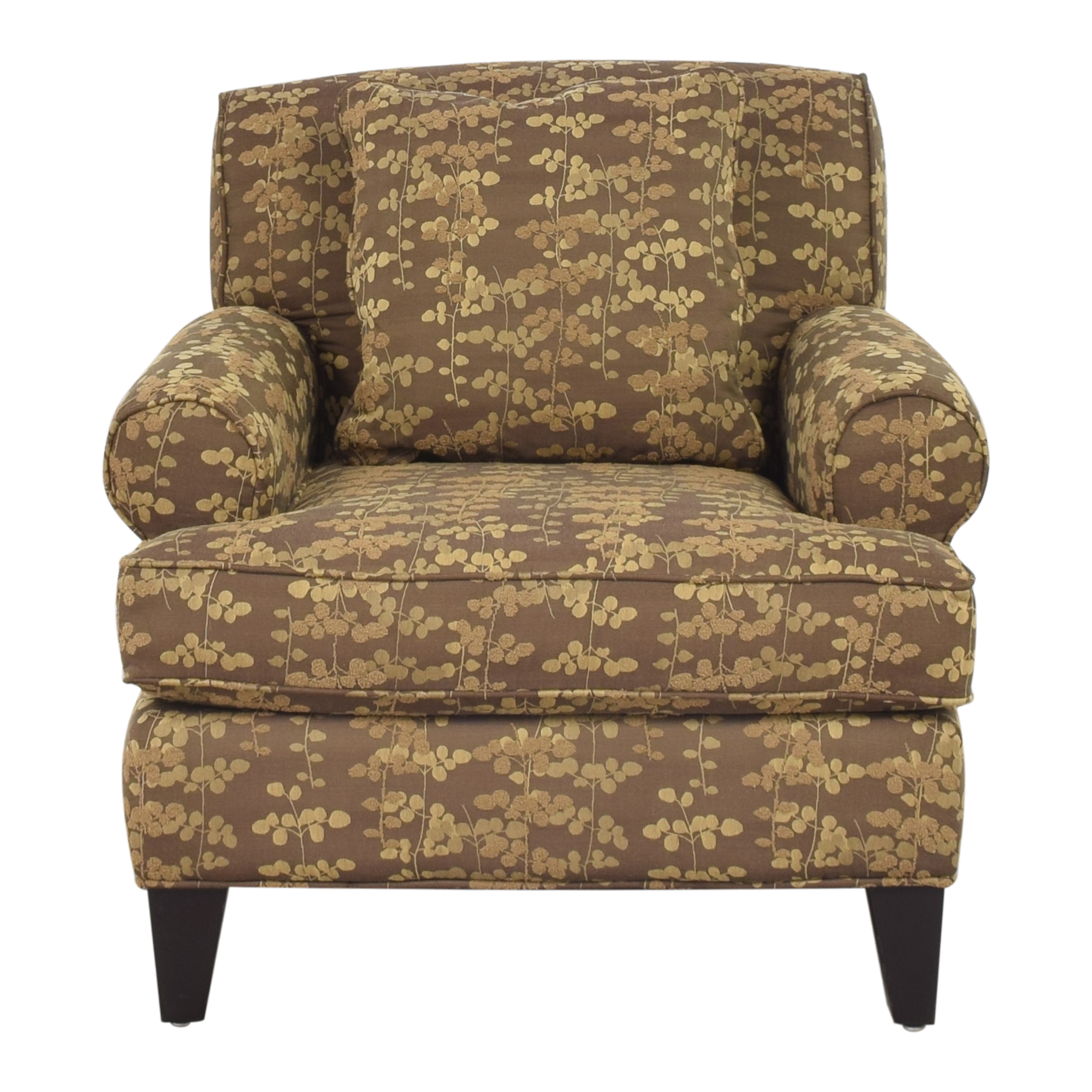 Macy's Macy's Roll Arm Club Chair nj