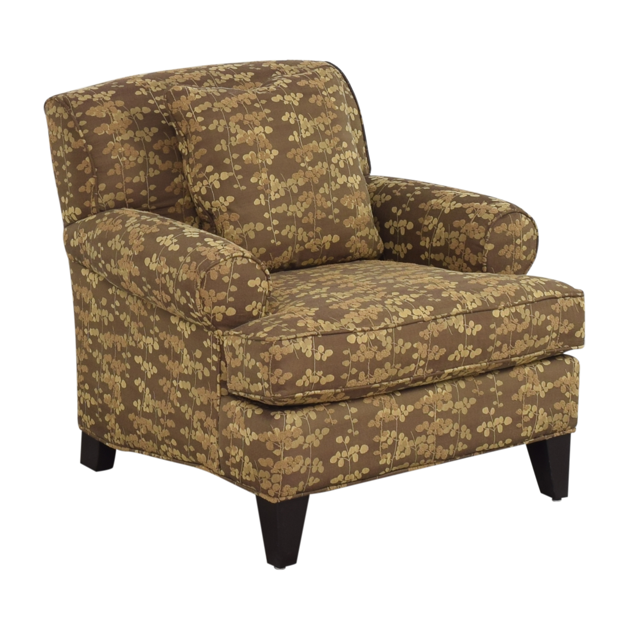shop Macy's Roll Arm Club Chair Macy's Accent Chairs