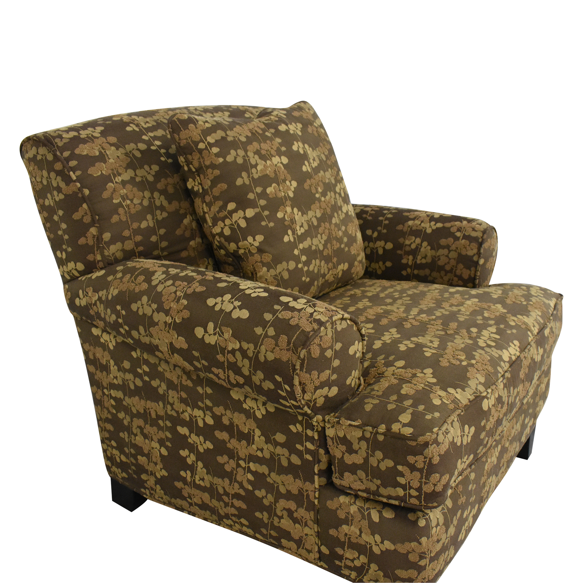 Macy's Macy's Roll Arm Club Chair second hand