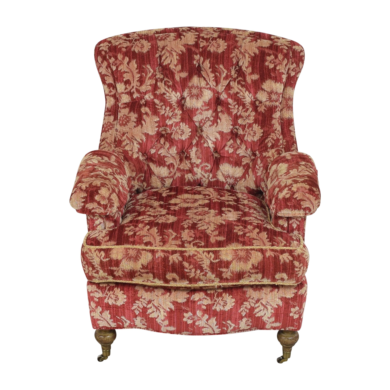 shop Drexel Heritage Custom Wingback Accent Chair Drexel Heritage Accent Chairs