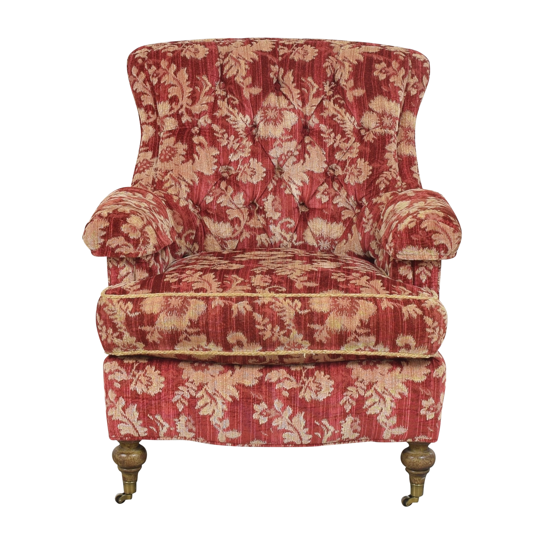 Drexel Heritage Custom Wingback Accent Chair Drexel Heritage