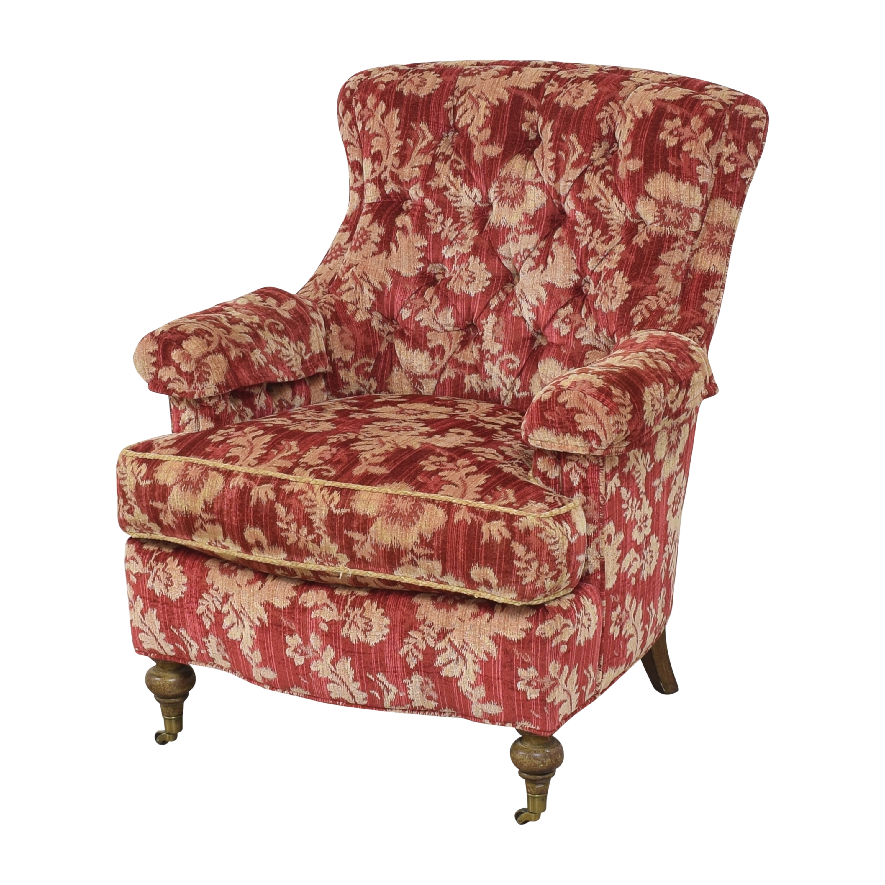 Drexel Heritage Drexel Heritage Custom Wingback Accent Chair used