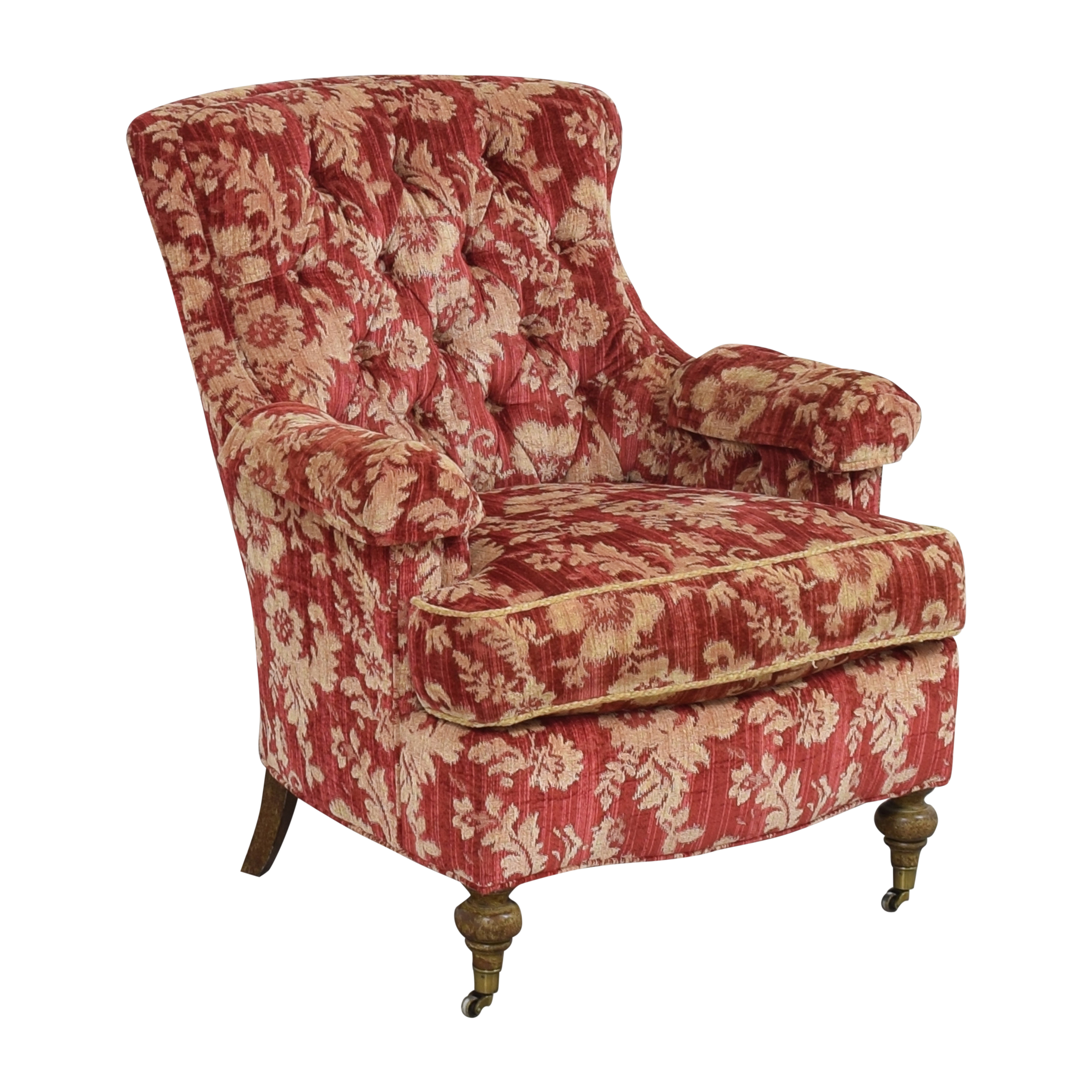 Drexel Heritage Custom Wingback Accent Chair / Chairs