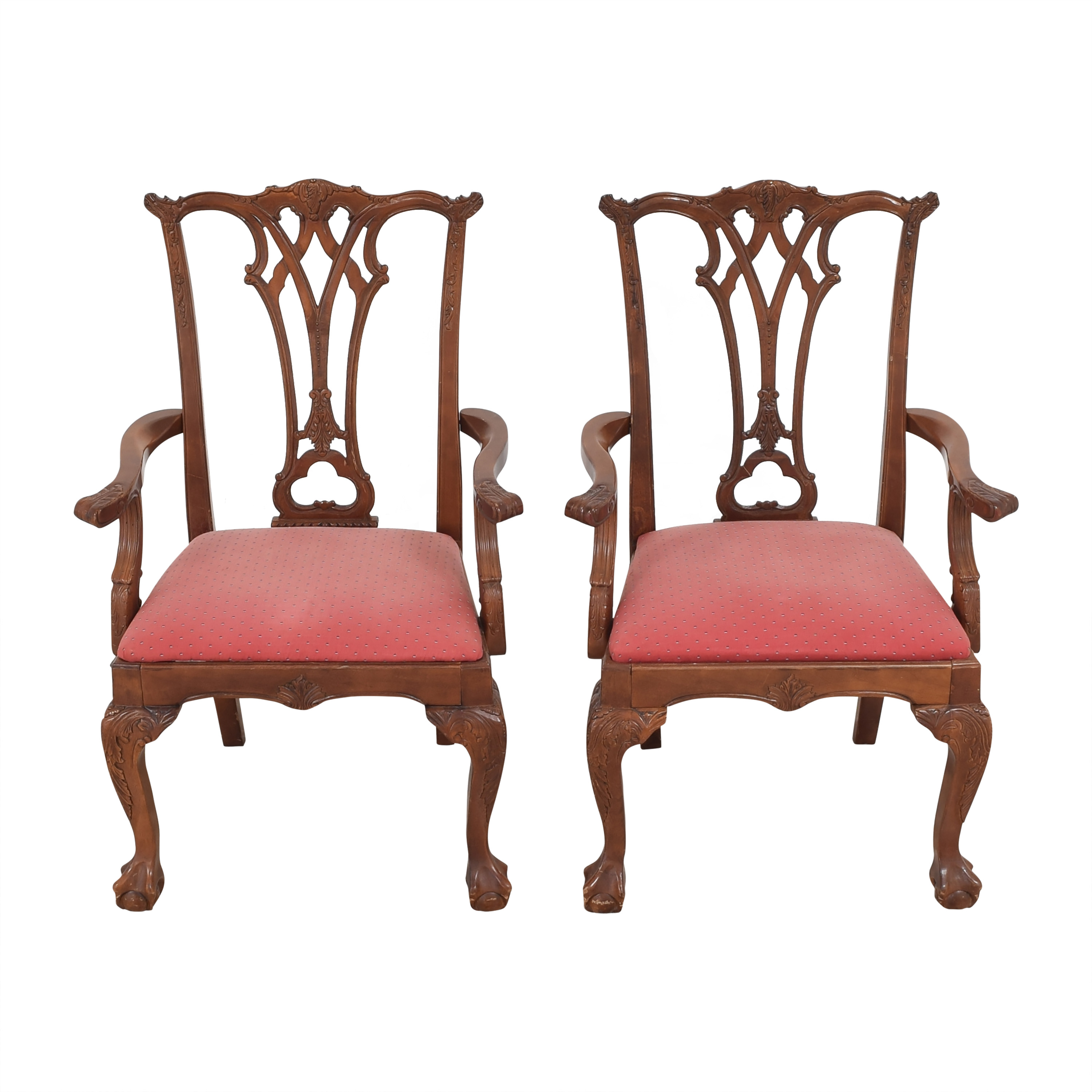 shop  Chippendale-Style Dining Arm Chairs online