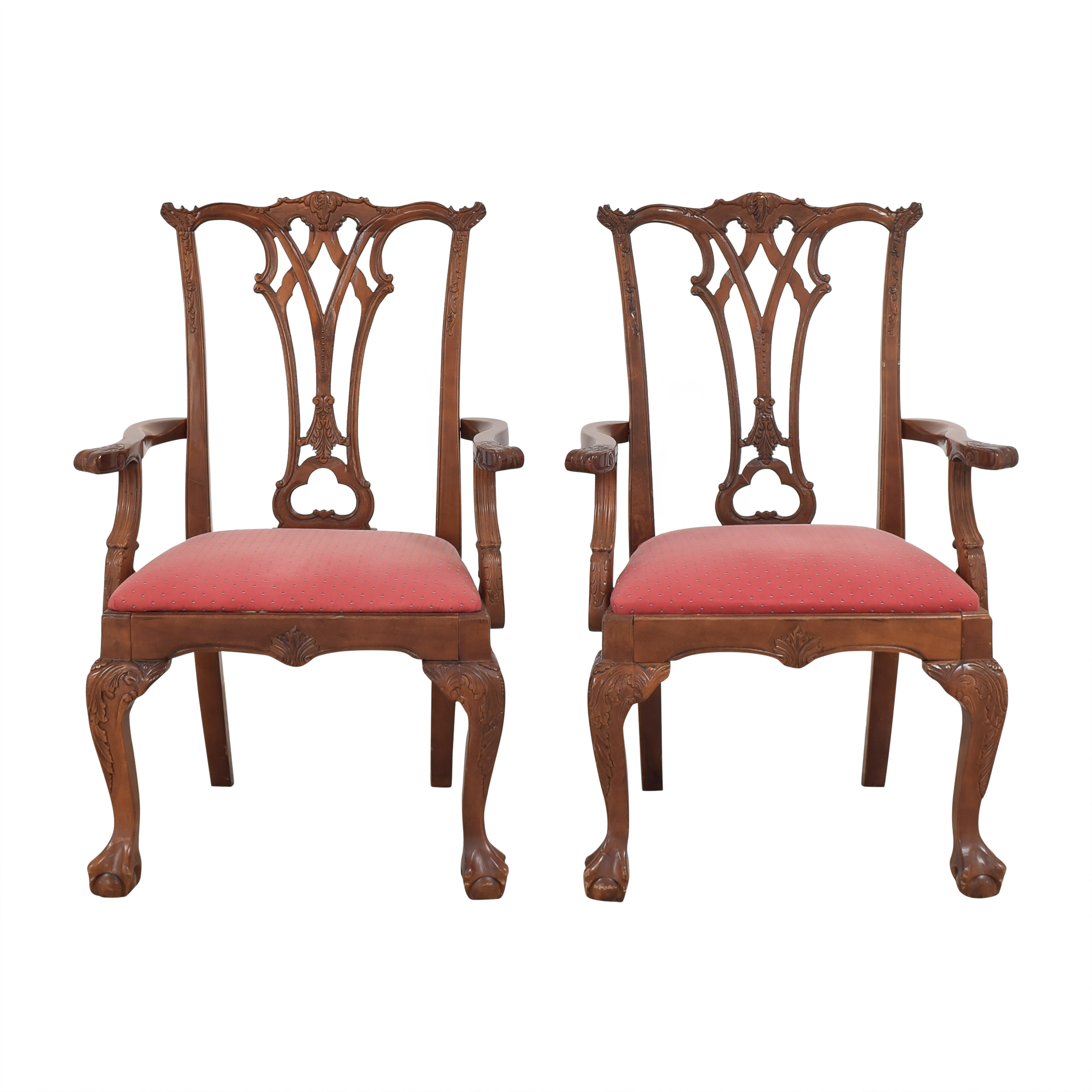 buy  Chippendale-Style Dining Arm Chairs online