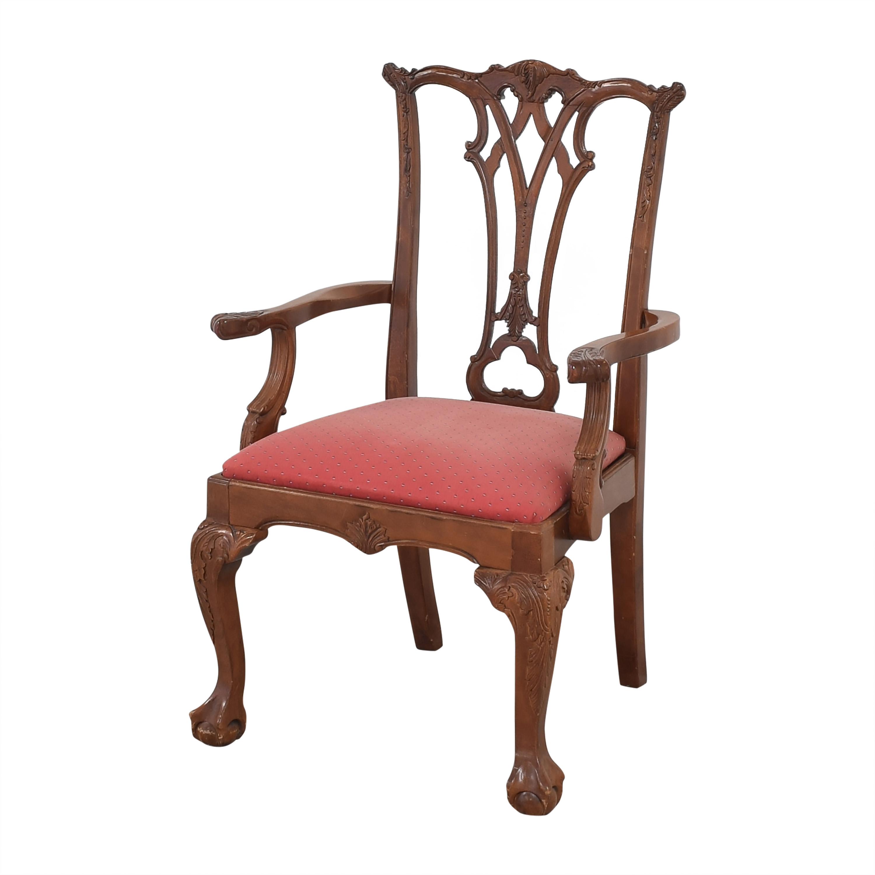 shop Chippendale-Style Dining Arm Chairs  Dining Chairs