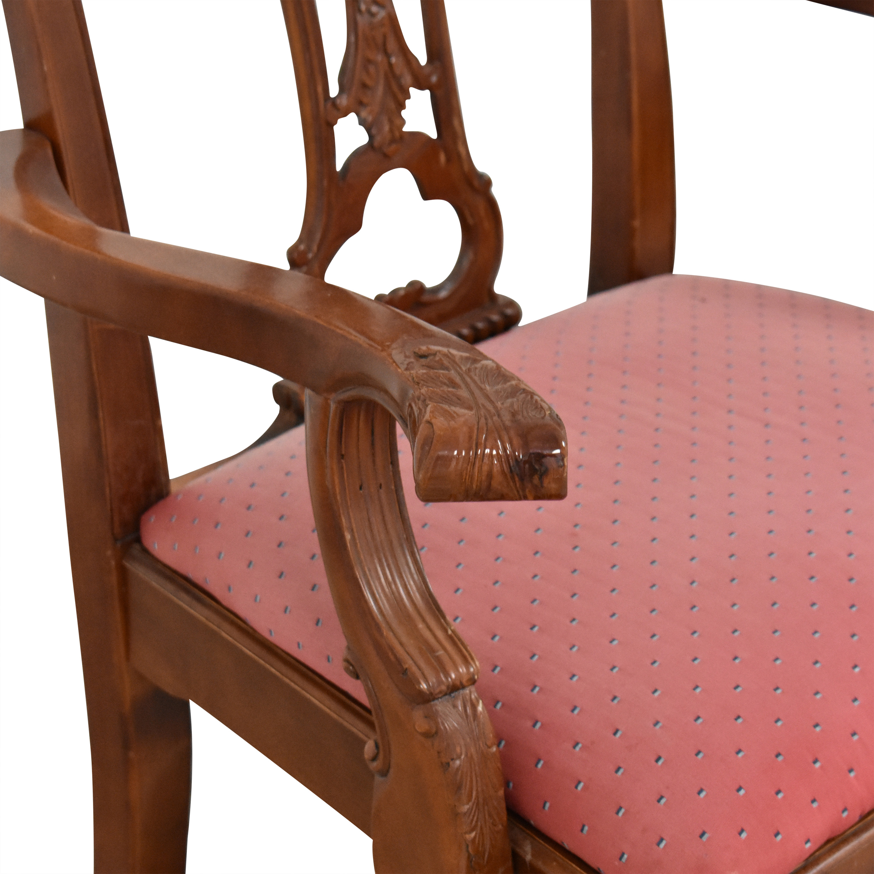 Chippendale-Style Dining Arm Chairs Chairs