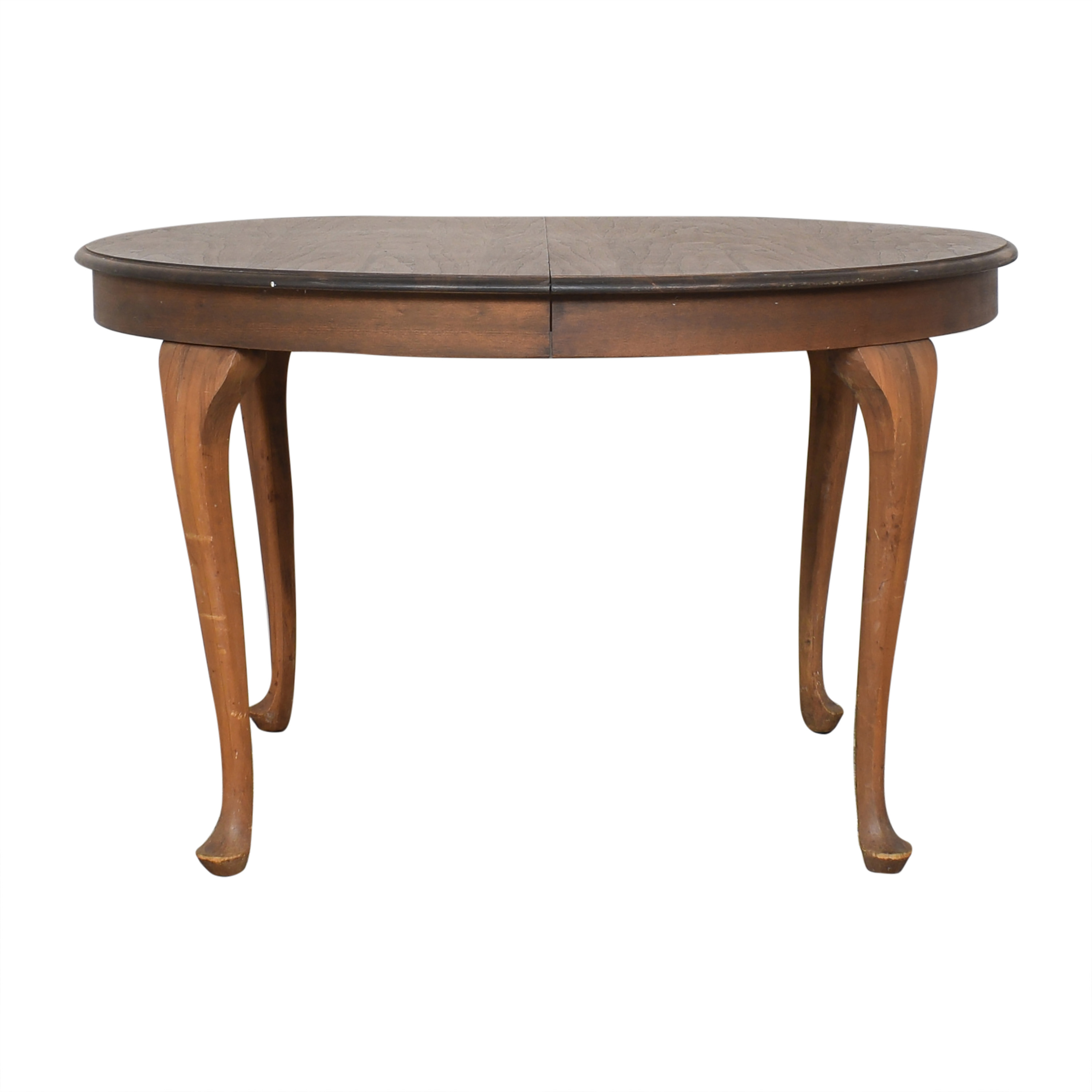buy  Antique Round Queen Anne Dining Table online