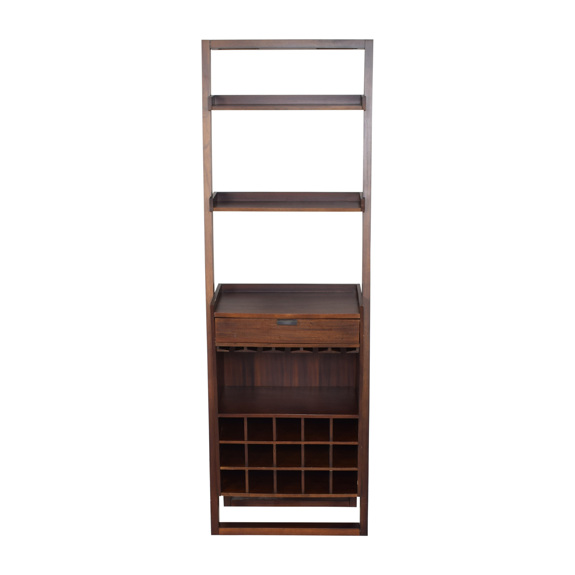 Crate & Barrel Sloane Leaning Wine Bar / Storage