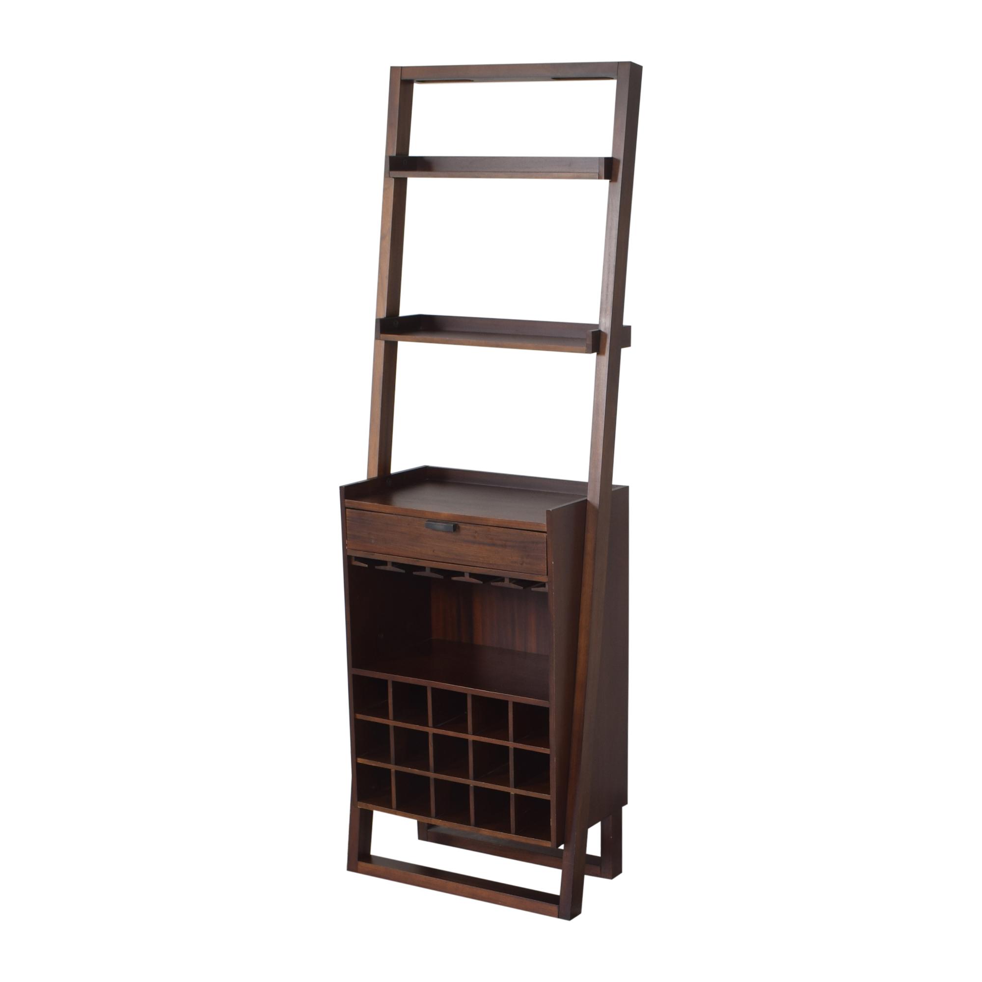Crate & Barrel Crate & Barrel Sloane Leaning Wine Bar for sale