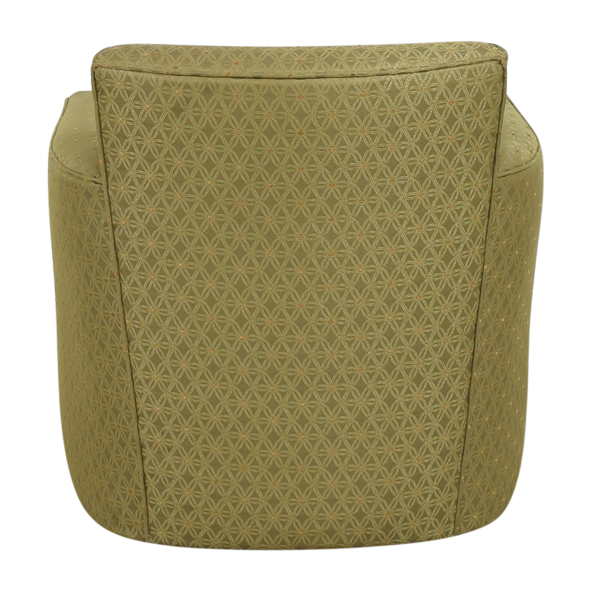 Patterned Accent Armchair nj