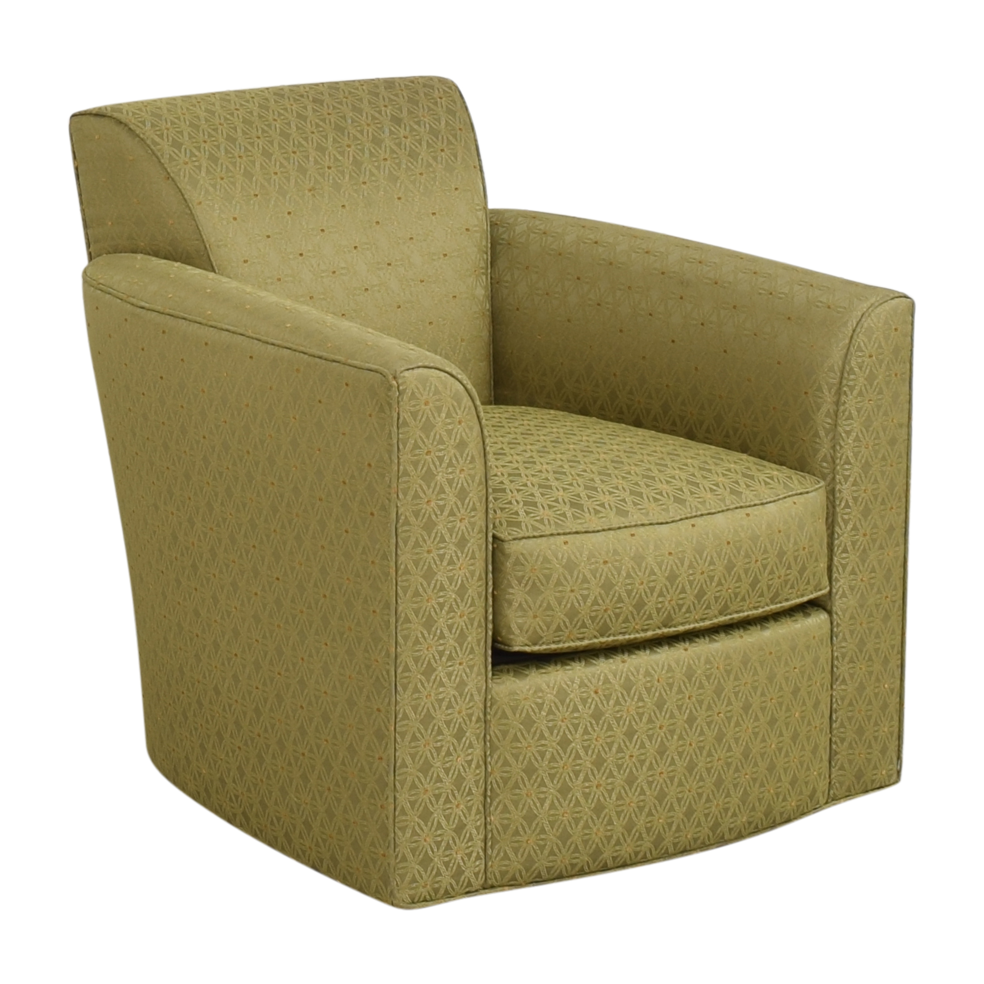 Patterned Accent Armchair sale