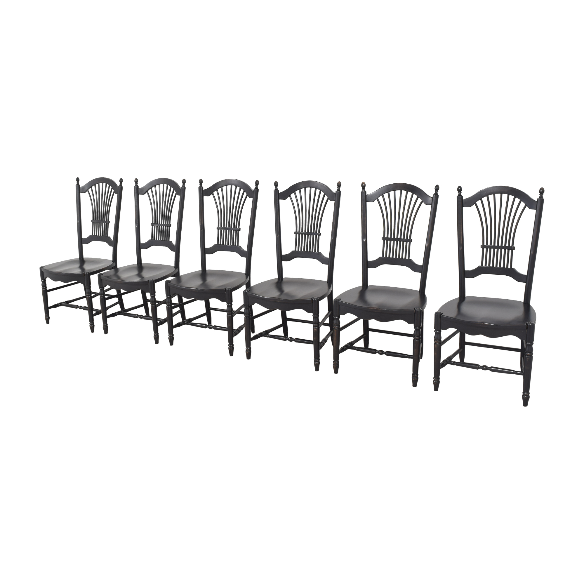 Shaker-Style Wheat Back Dining Side Chairs on sale