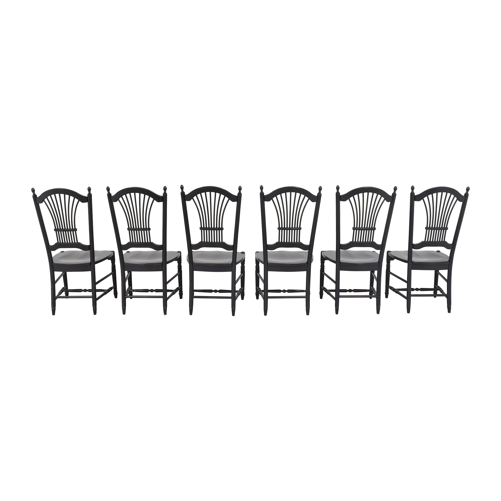 Shaker-Style Wheat Back Dining Side Chairs ct