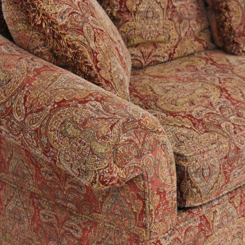Raymour & Flanigan Raymour & Flanigan Damask Skirted Sofa price