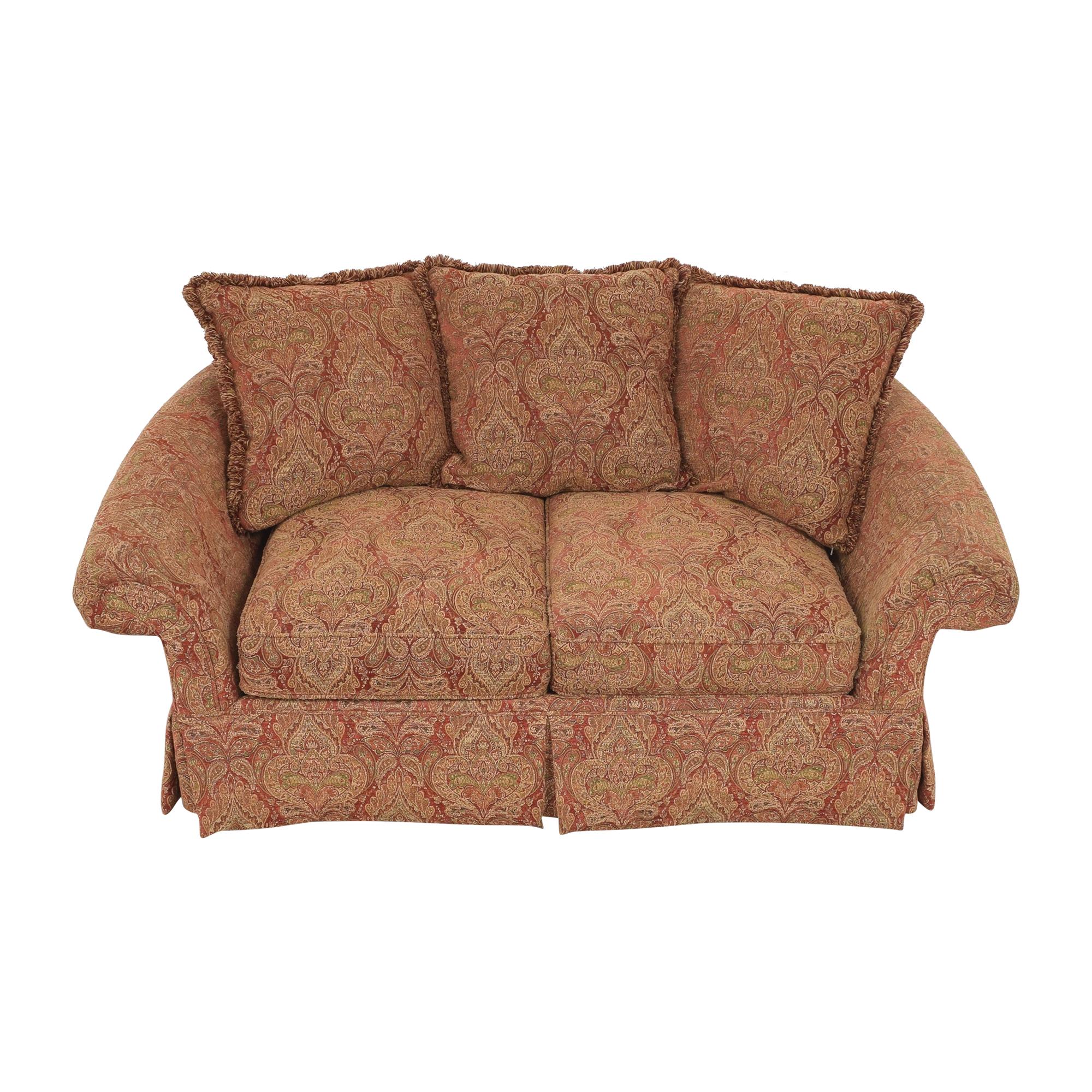 Raymour & Flanigan Raymour & Flanigan Two Cushion Skirted Sofa