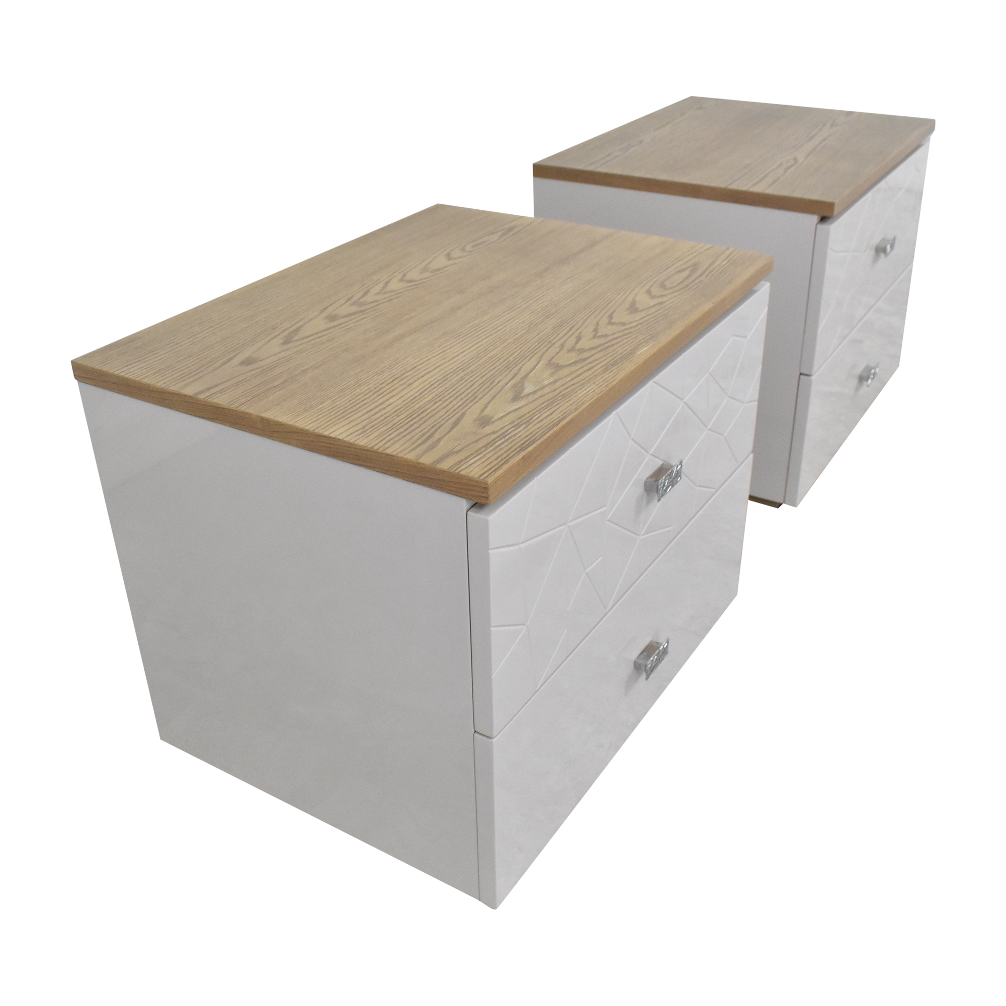 Modern Two Drawer Nightstands sale