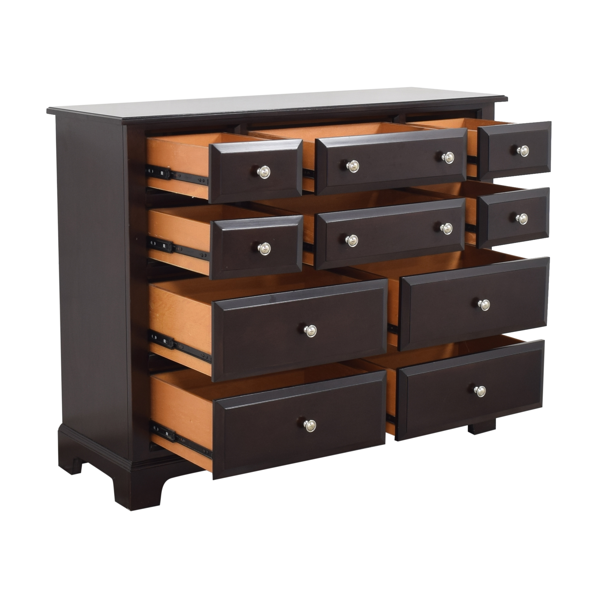 Raymour & Flanigan Raymour & Flanigan Horizon Ten Drawer Dresser Storage