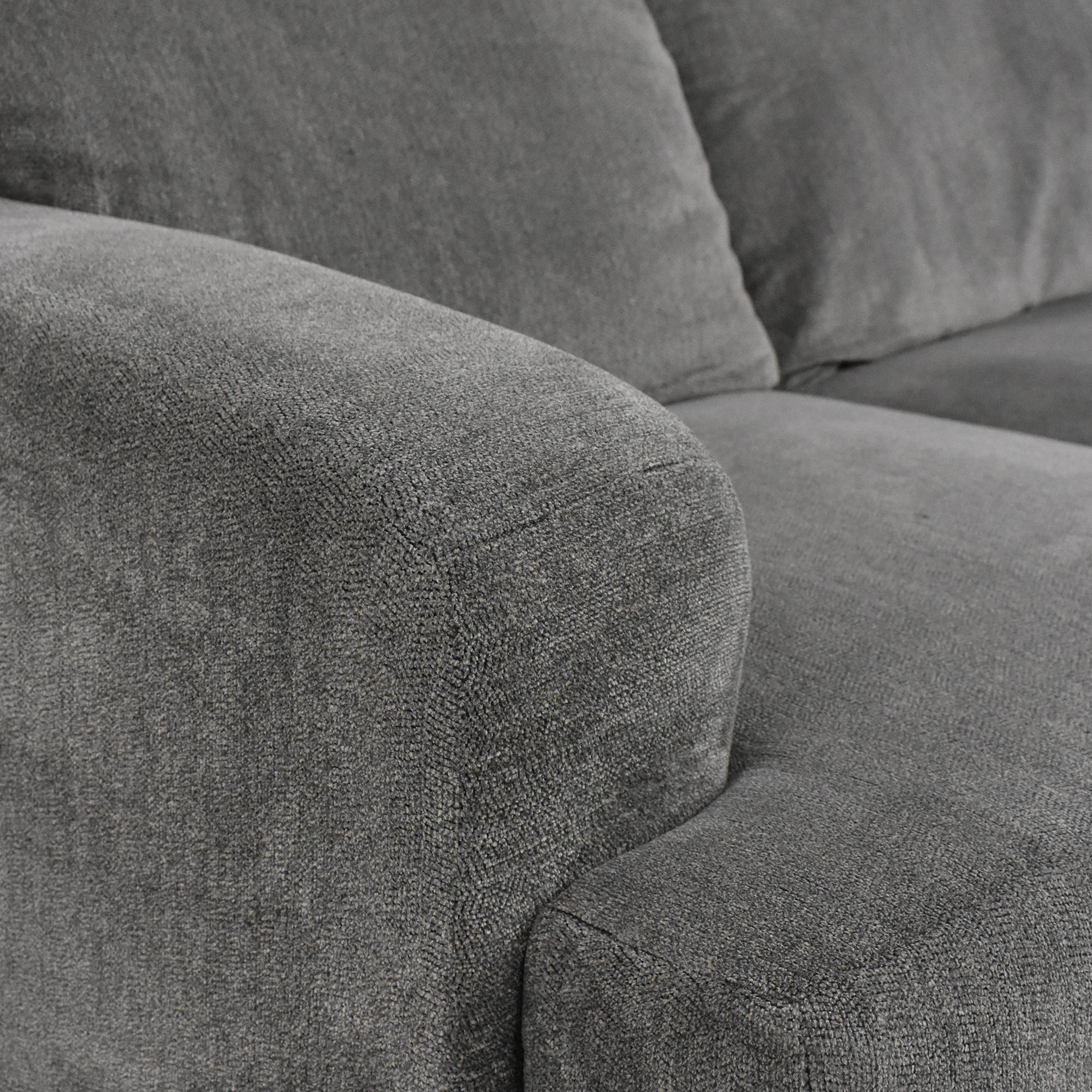Raymour & Flanigan Raymour & Flanigan Two Cushion Sofa coupon