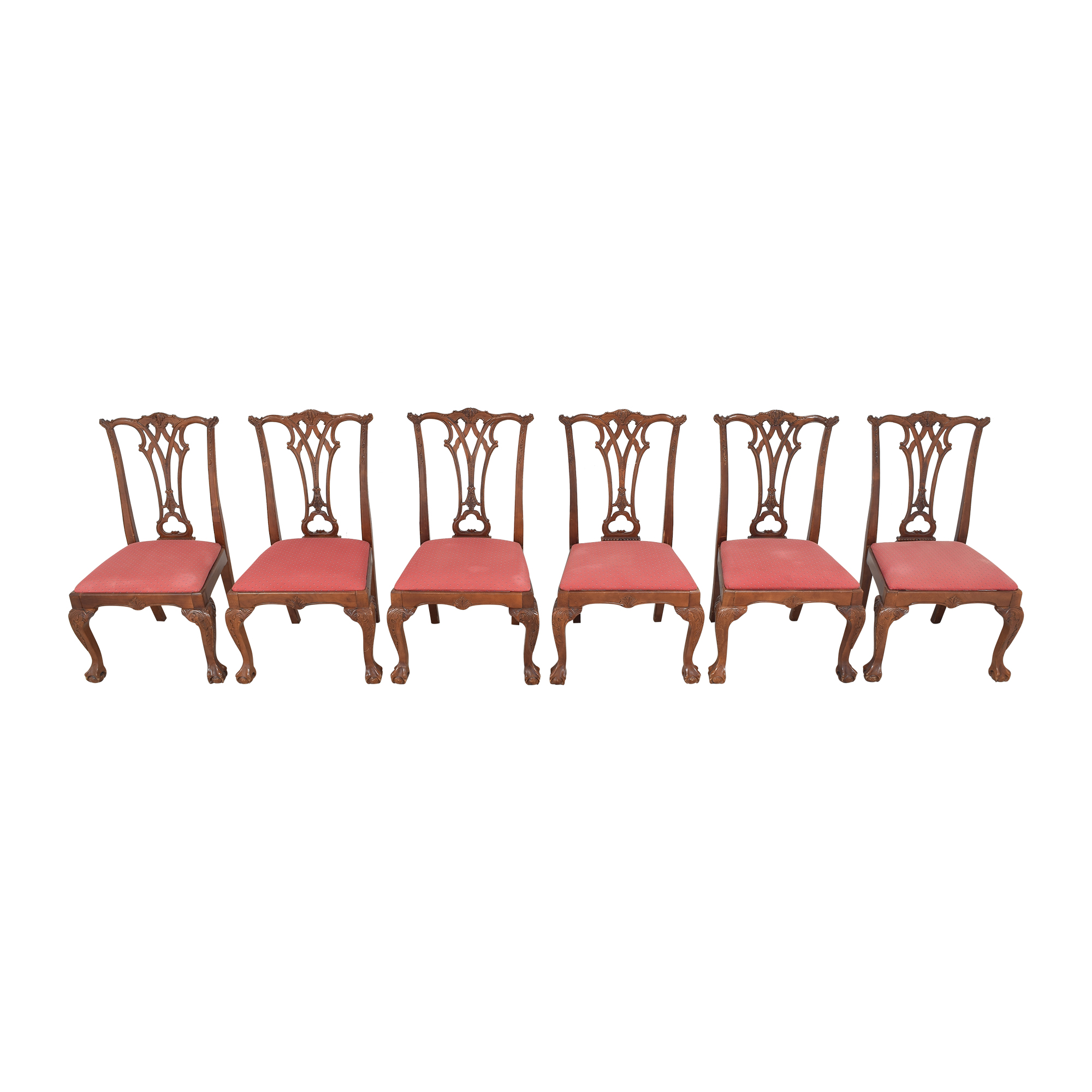 Chippendale-Style Dining Side Chairs Dining Chairs