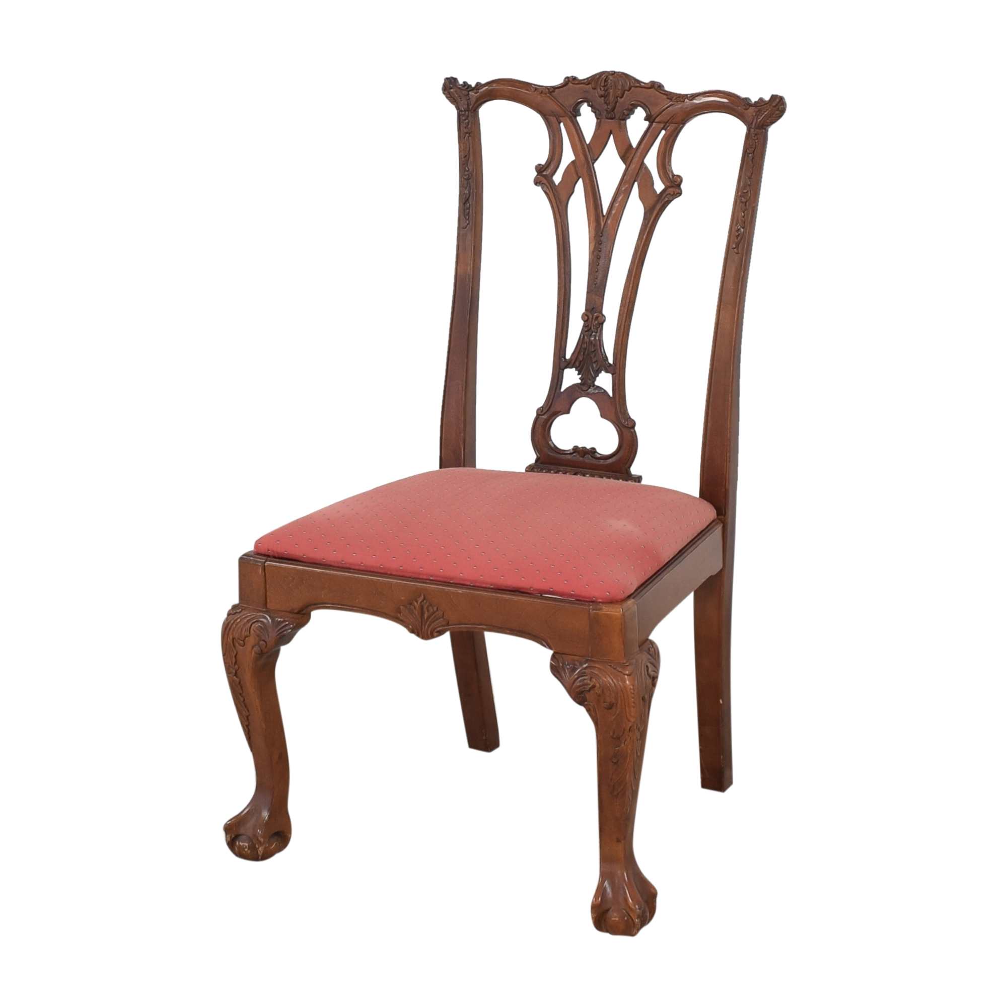 Chippendale-Style Dining Side Chairs pa