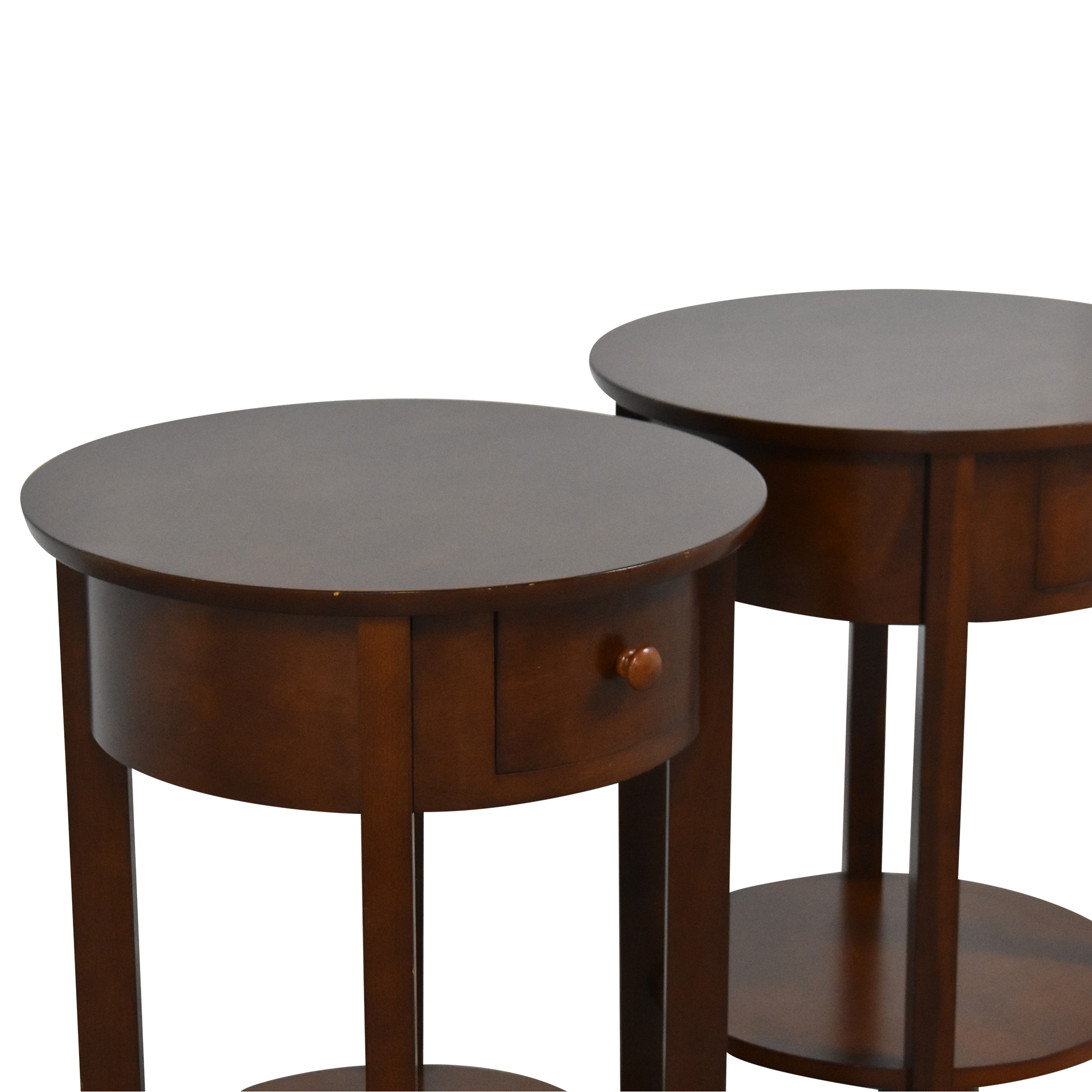 Pottery Barn Pottery Barn Round Top End Tables Tables