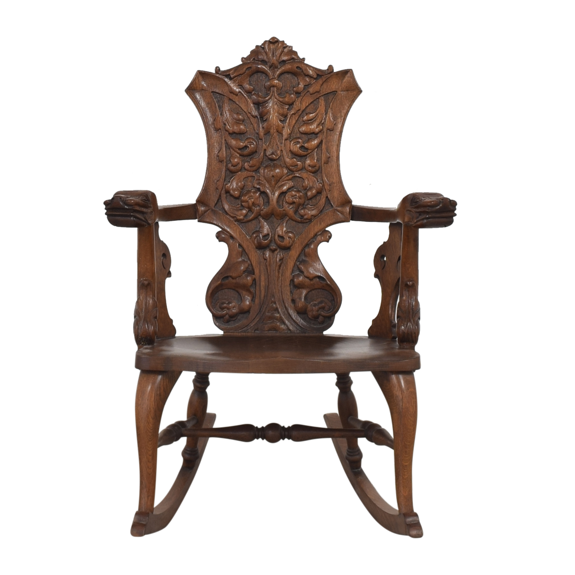 Carved Rocking Chair discount