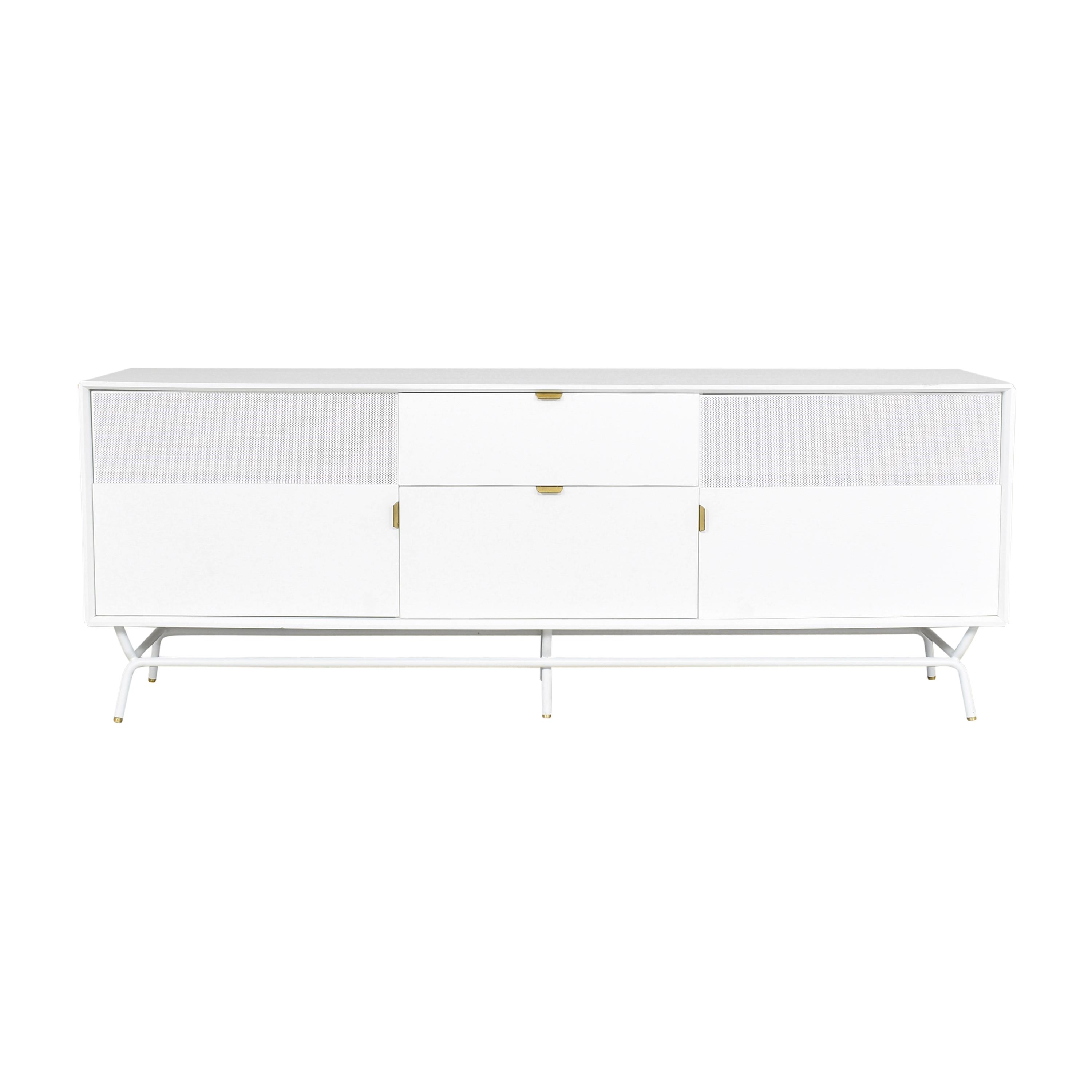 buy Blu Dot Dang Two Door / Two Drawer Console Blu Dot Cabinets & Sideboards