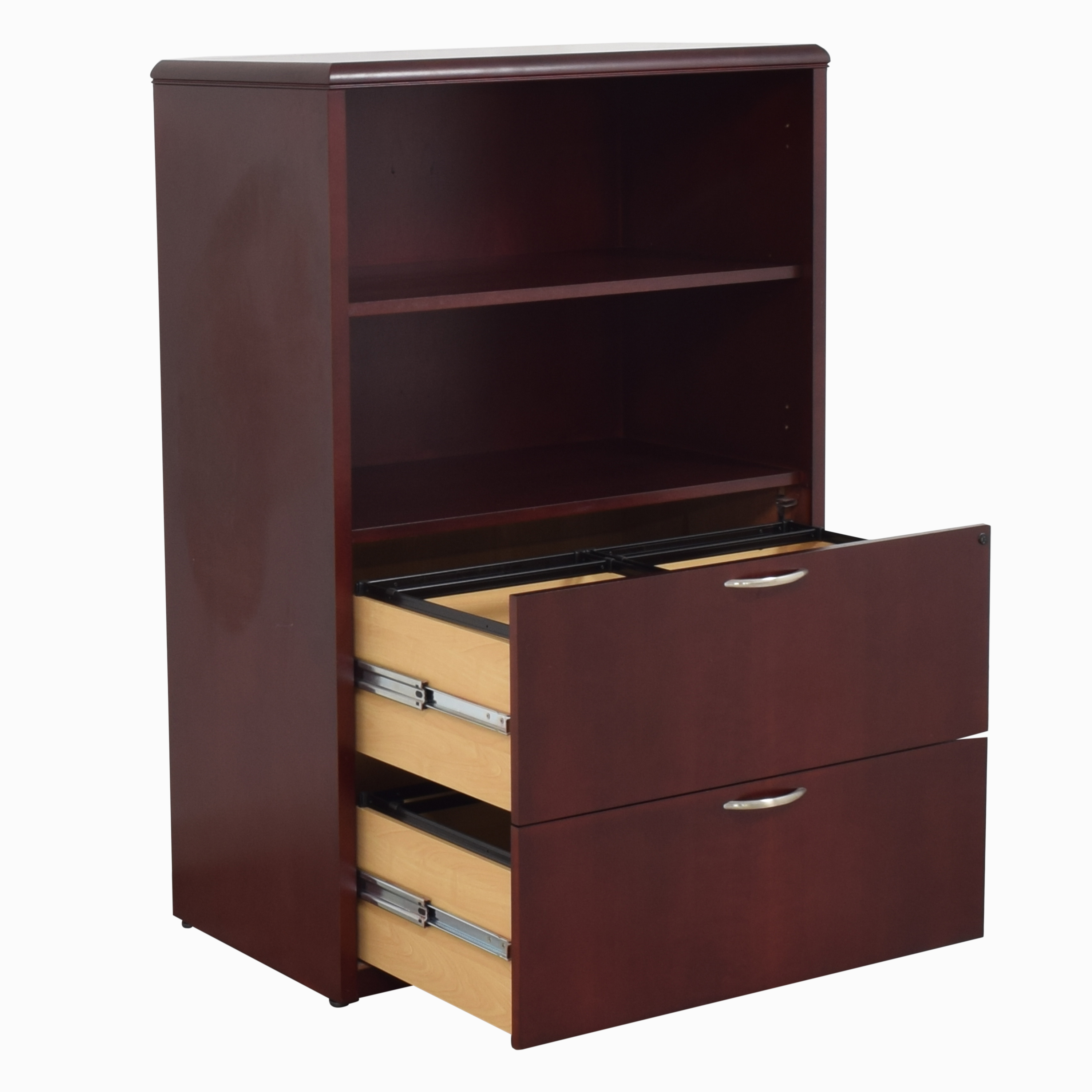 shop  Bookcase with Two Drawer File Cabinet online