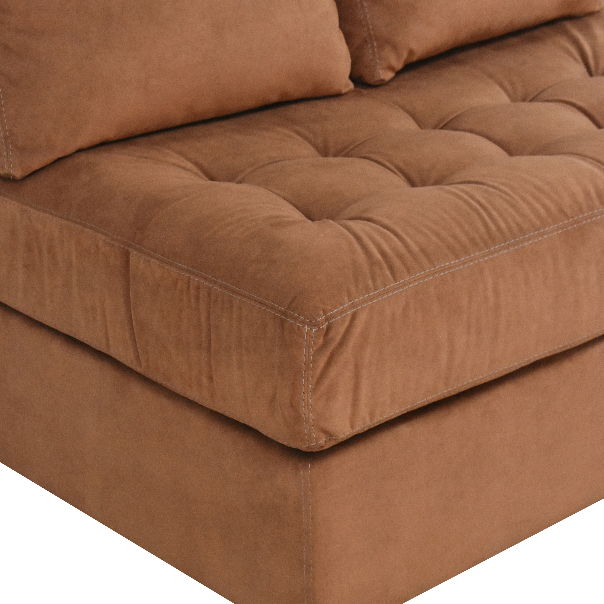 American Leather American Leather Tufted Storage Chaise discount