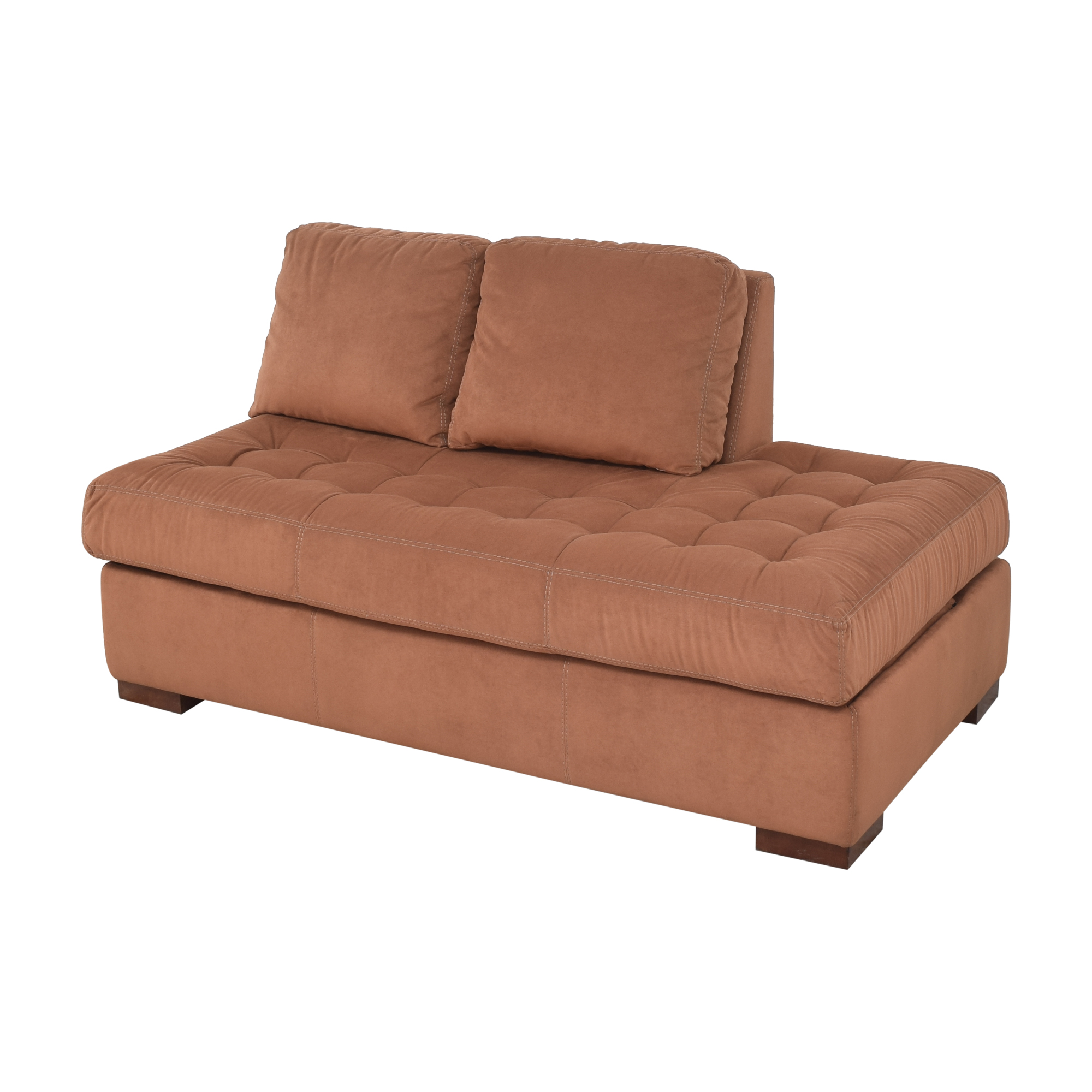 American Leather American Leather Tufted Storage Chaise price